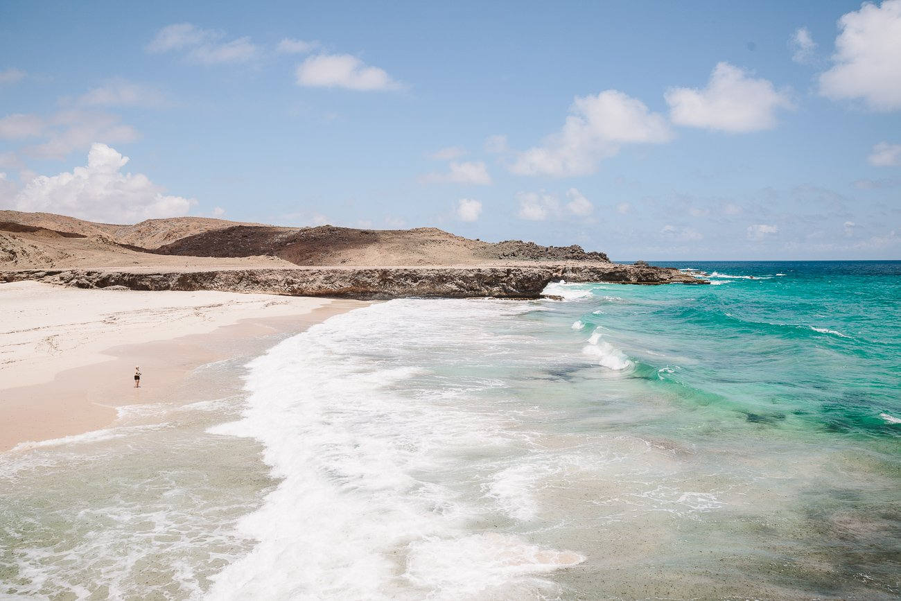 Dos Playas at Arikok National Park Aruba
