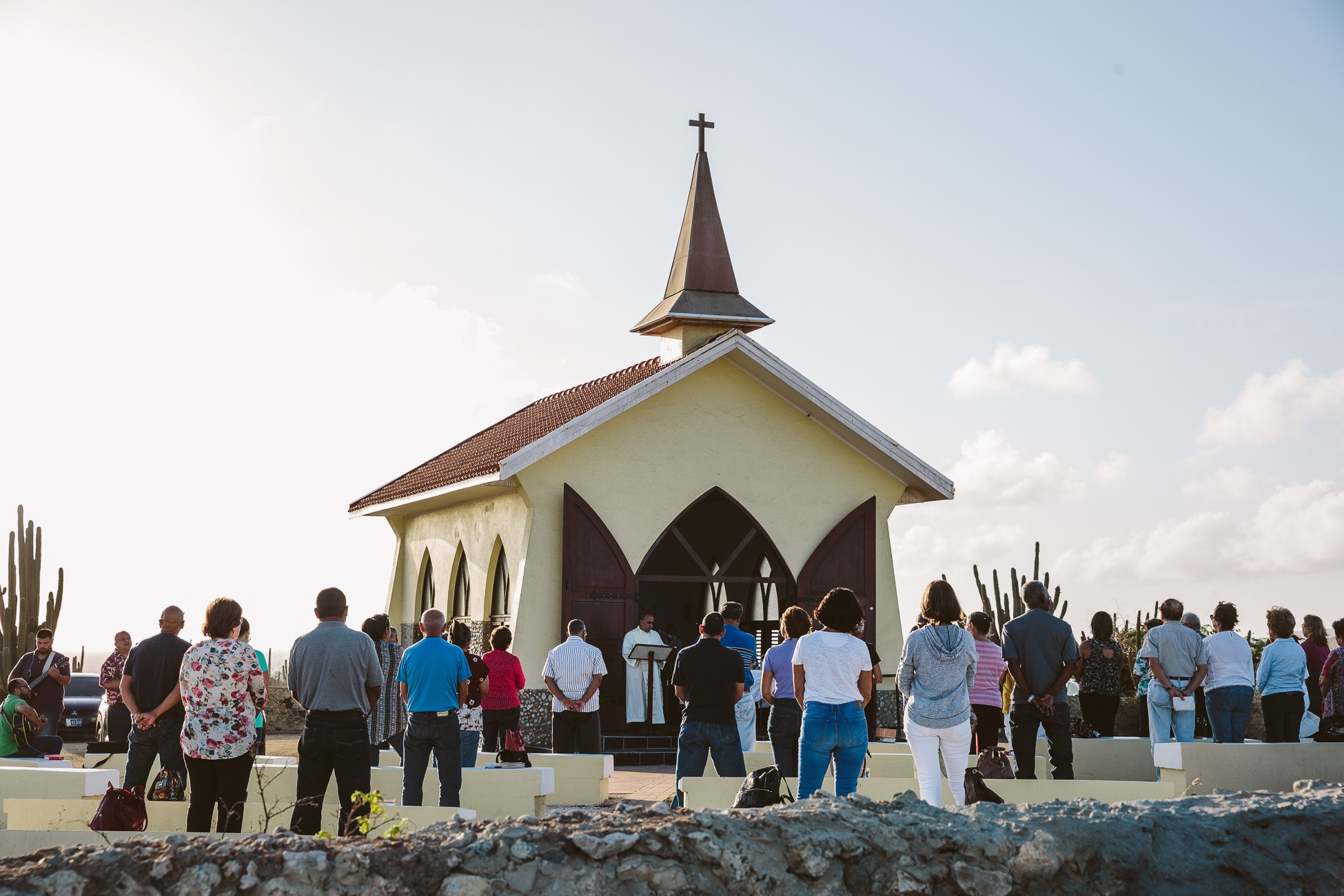 Sunrise at Alto Vista Chapel Aruba