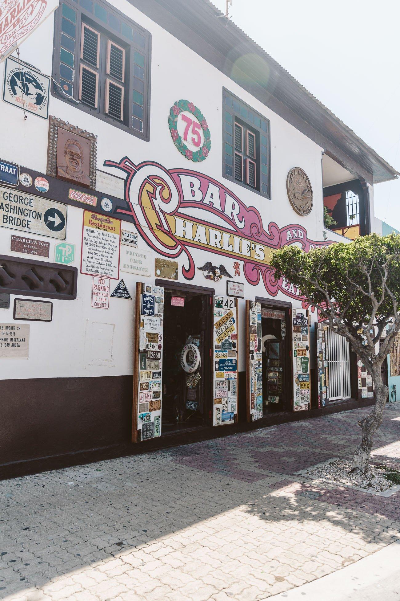 Charlie's Bar San Nicolaas Aruba