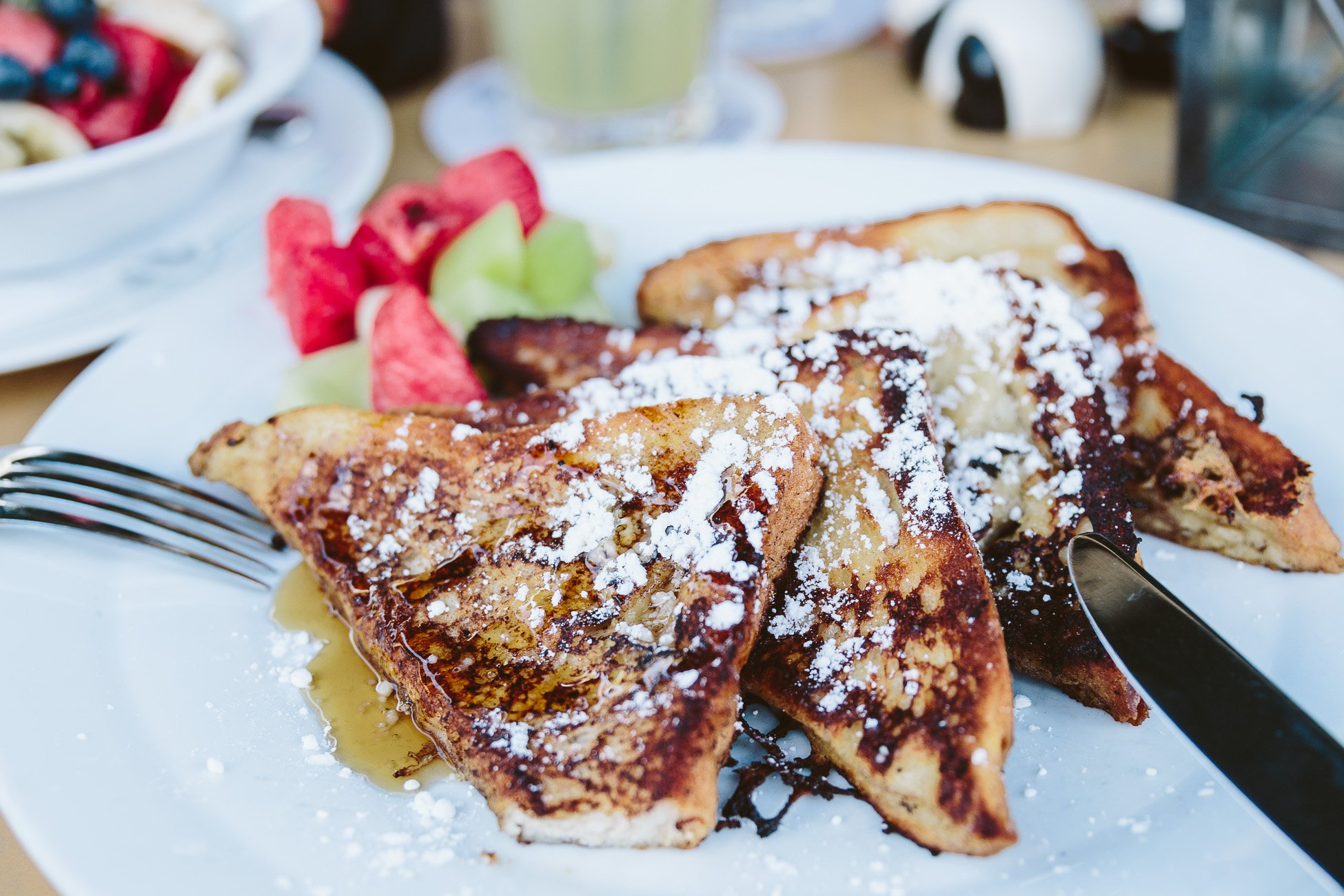 French Toast at Salt'n'Pepper Aruba