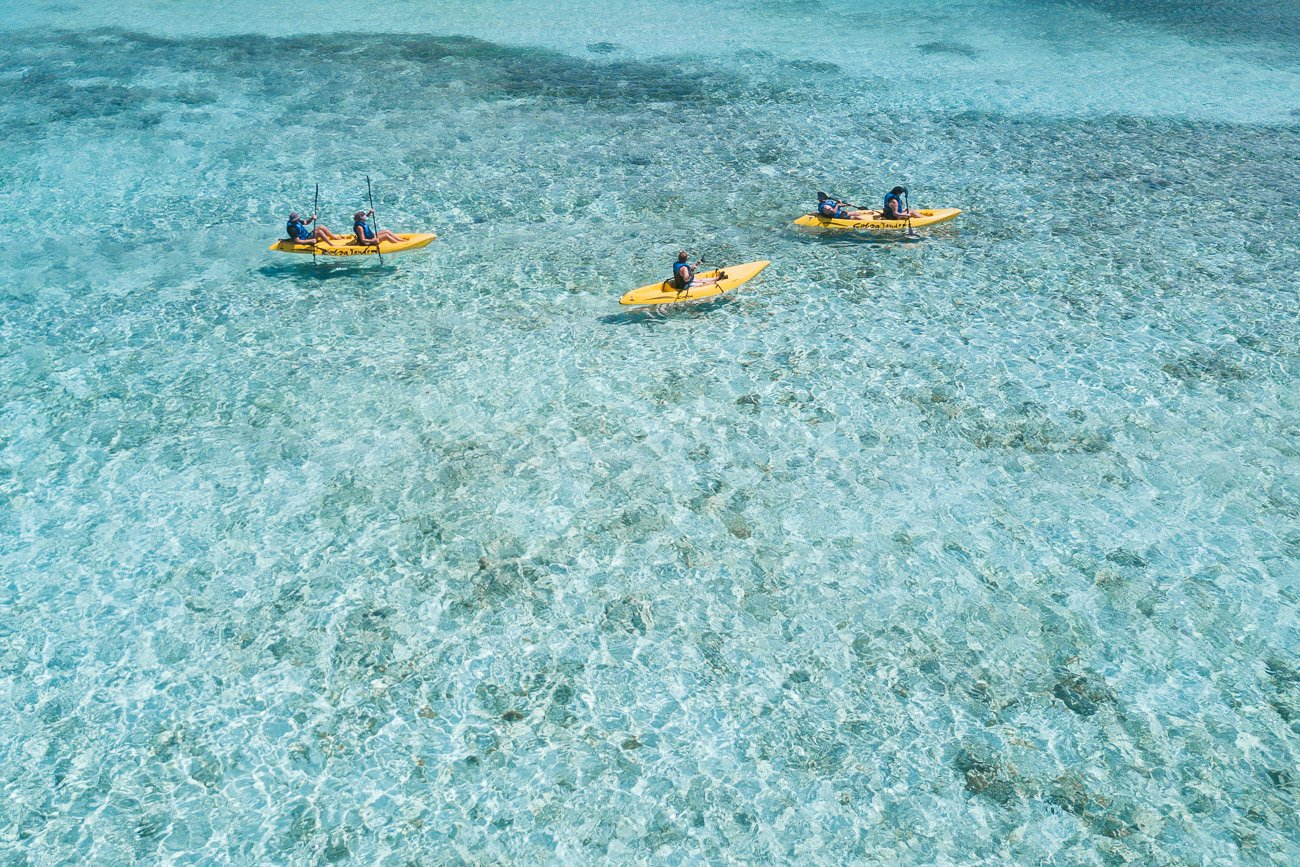 Kayaking in Aruba