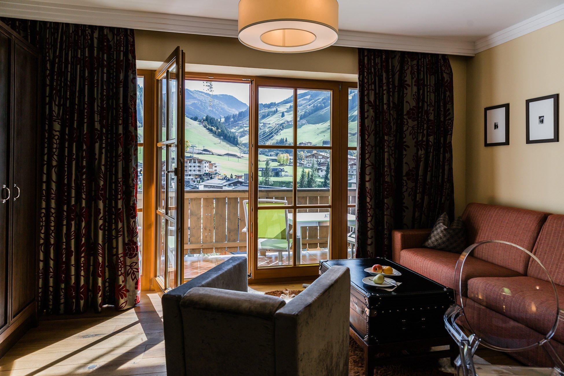 Zimmer 402 im Alpine Palace