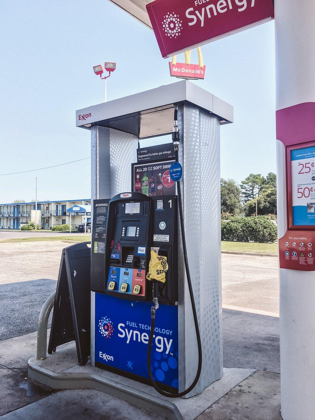 Benzin ist ausverkauft während Hurricane Irma