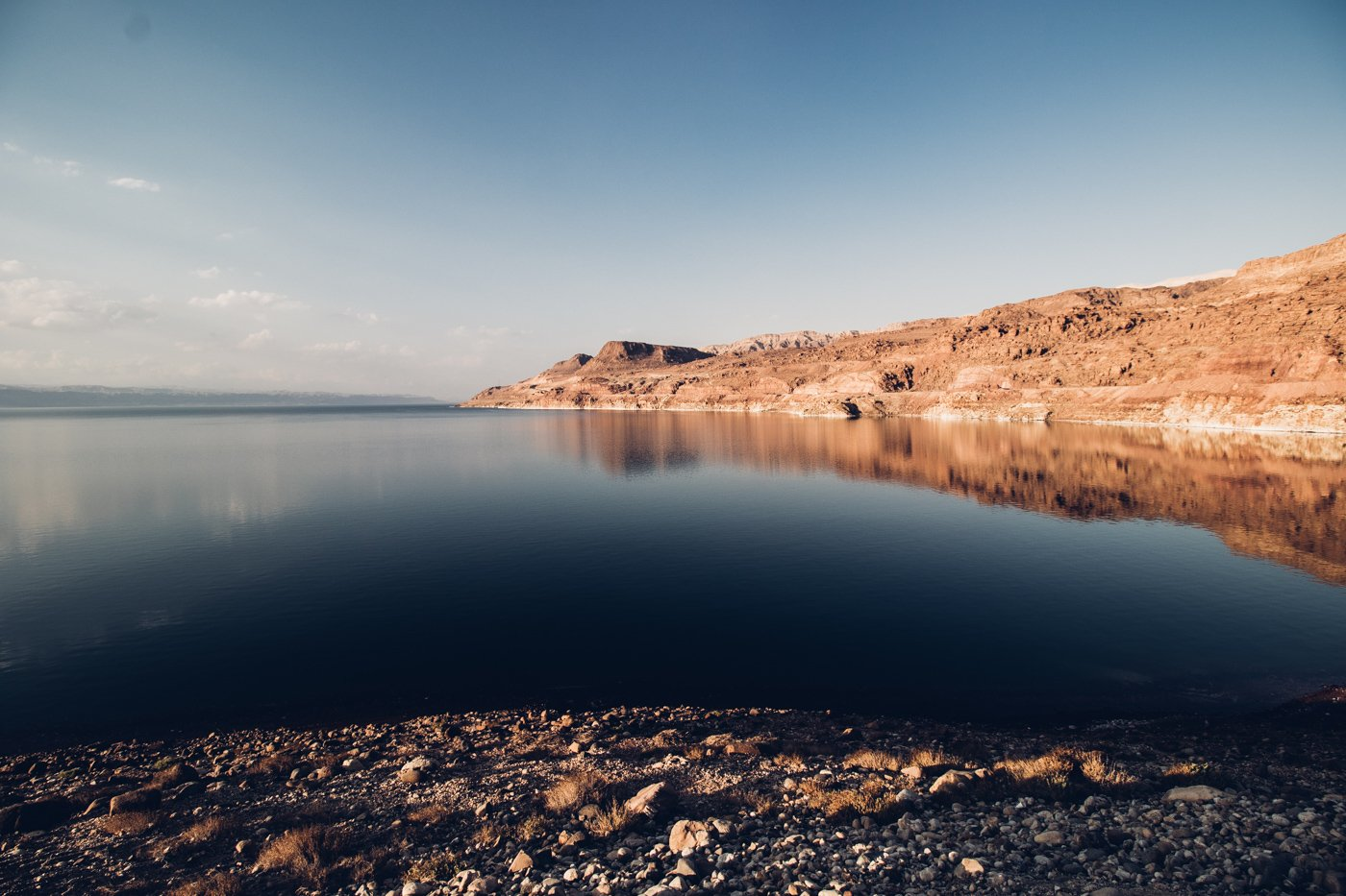 Dead Sea in Jordan as shot with Canon 200D