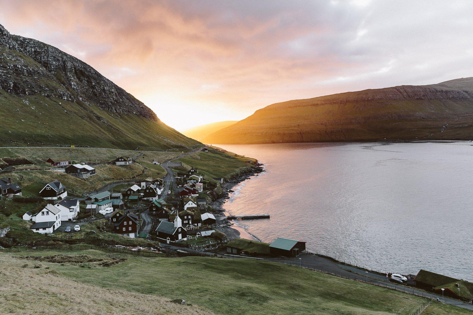 Faroe Islands Sunrise