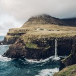 Faroe Islands Hike: Mulafossur waterfall