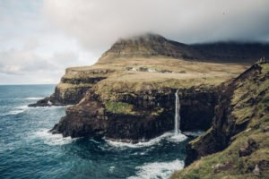Faroe Islands Hike: Mulafossurwaterfall