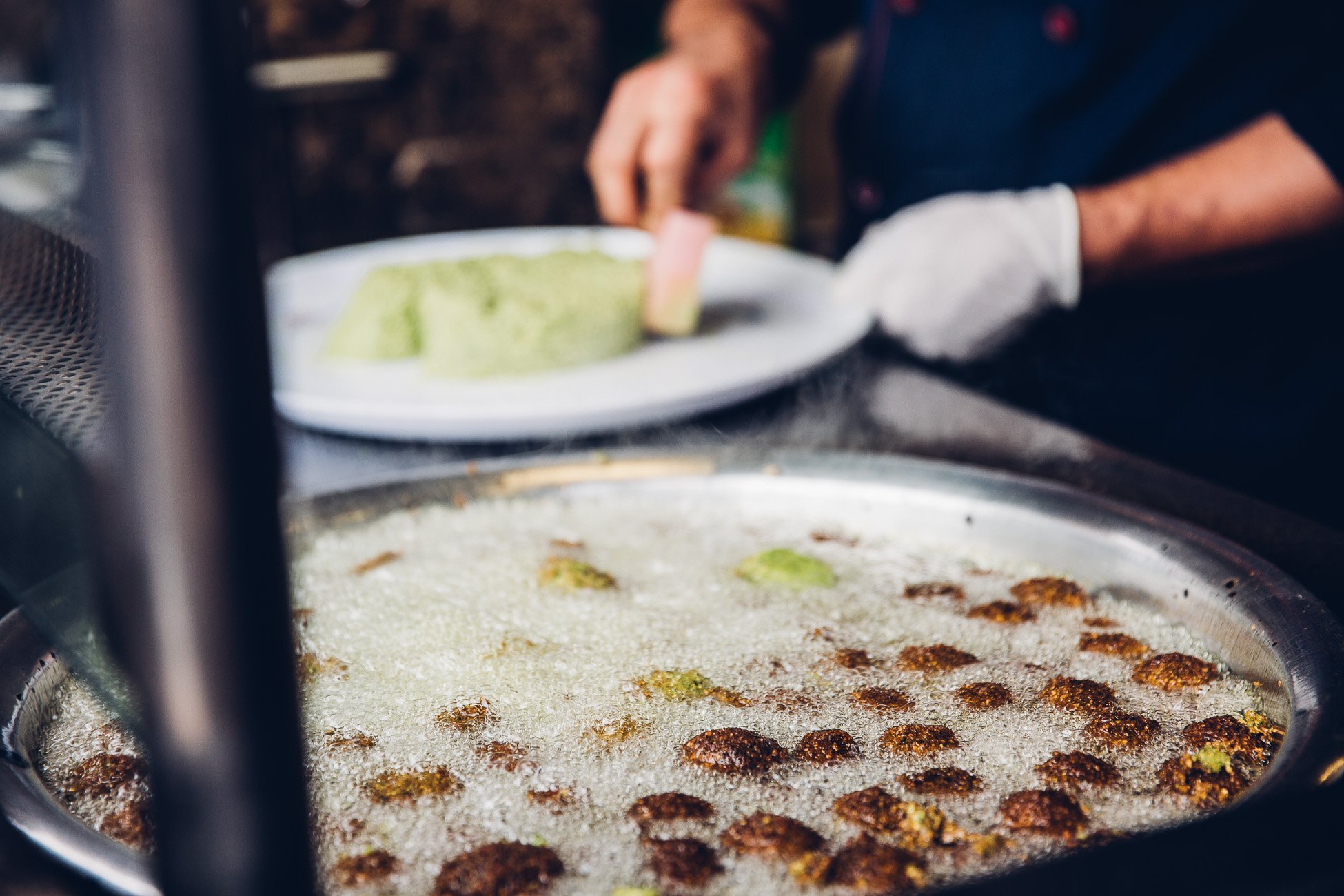 Eat Falafel at Al Quds during 24 hours in Amman