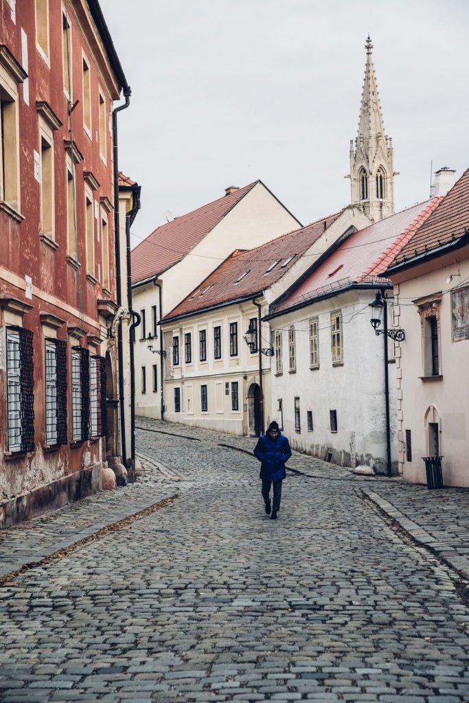 Kapitulská street Bratislava