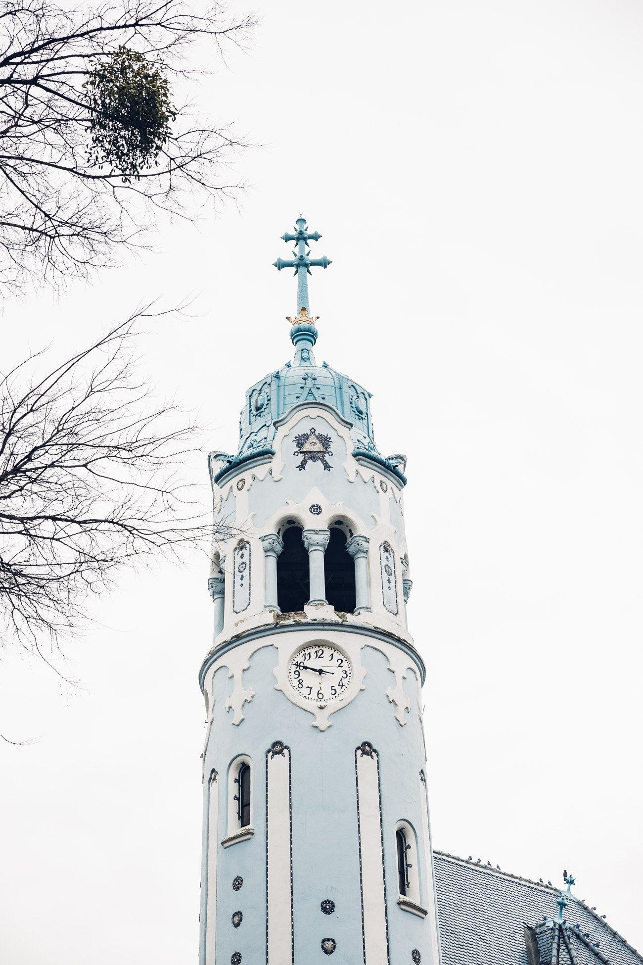 Blue Church or Church of St. Elizabeth Bratislava