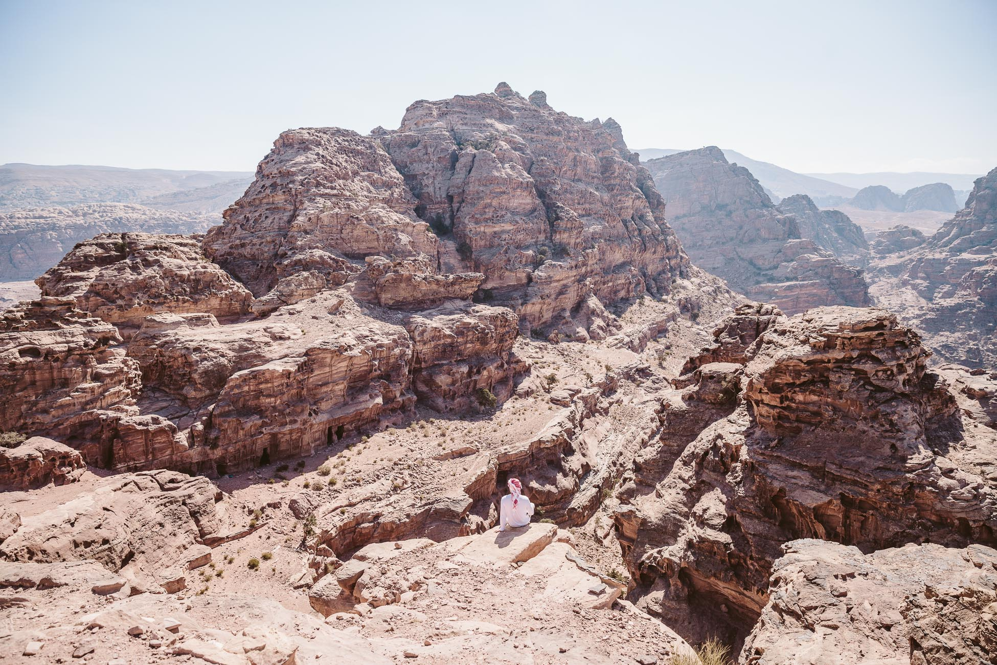 Best view of Petra from the top