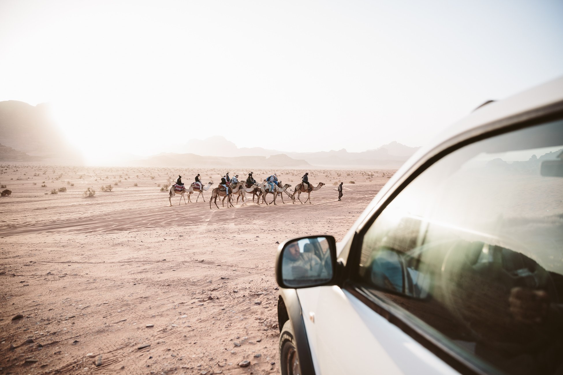 Jeep Safari and Camel Ride in Wadi Rum Jordan