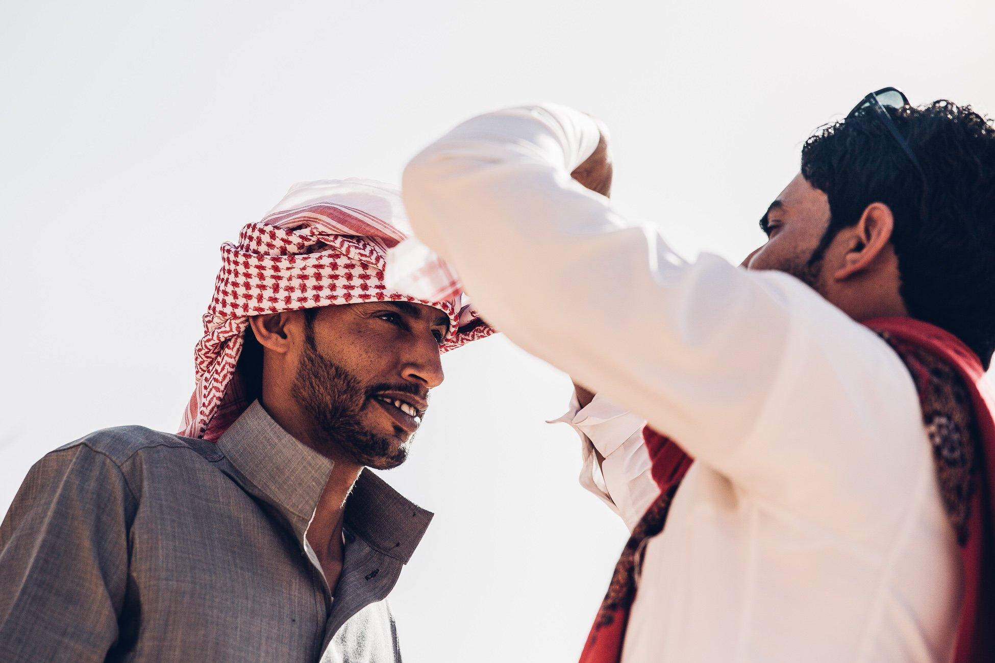 Zawaideh Bedouins in Petra