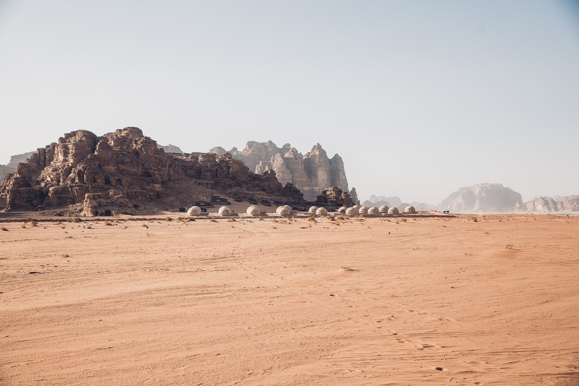 Sun City Camp in Wadi Rum Jordan