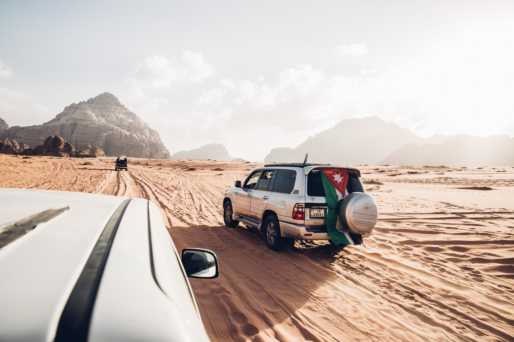 Jeep Safari in Wadi Rum Jordan