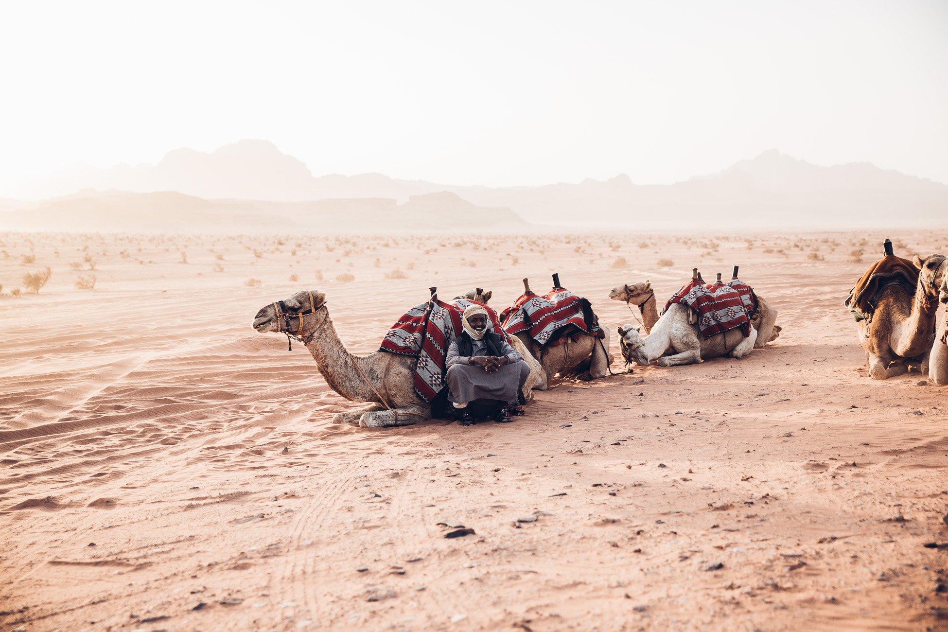 Bedouin in Jordan Wadi Rum