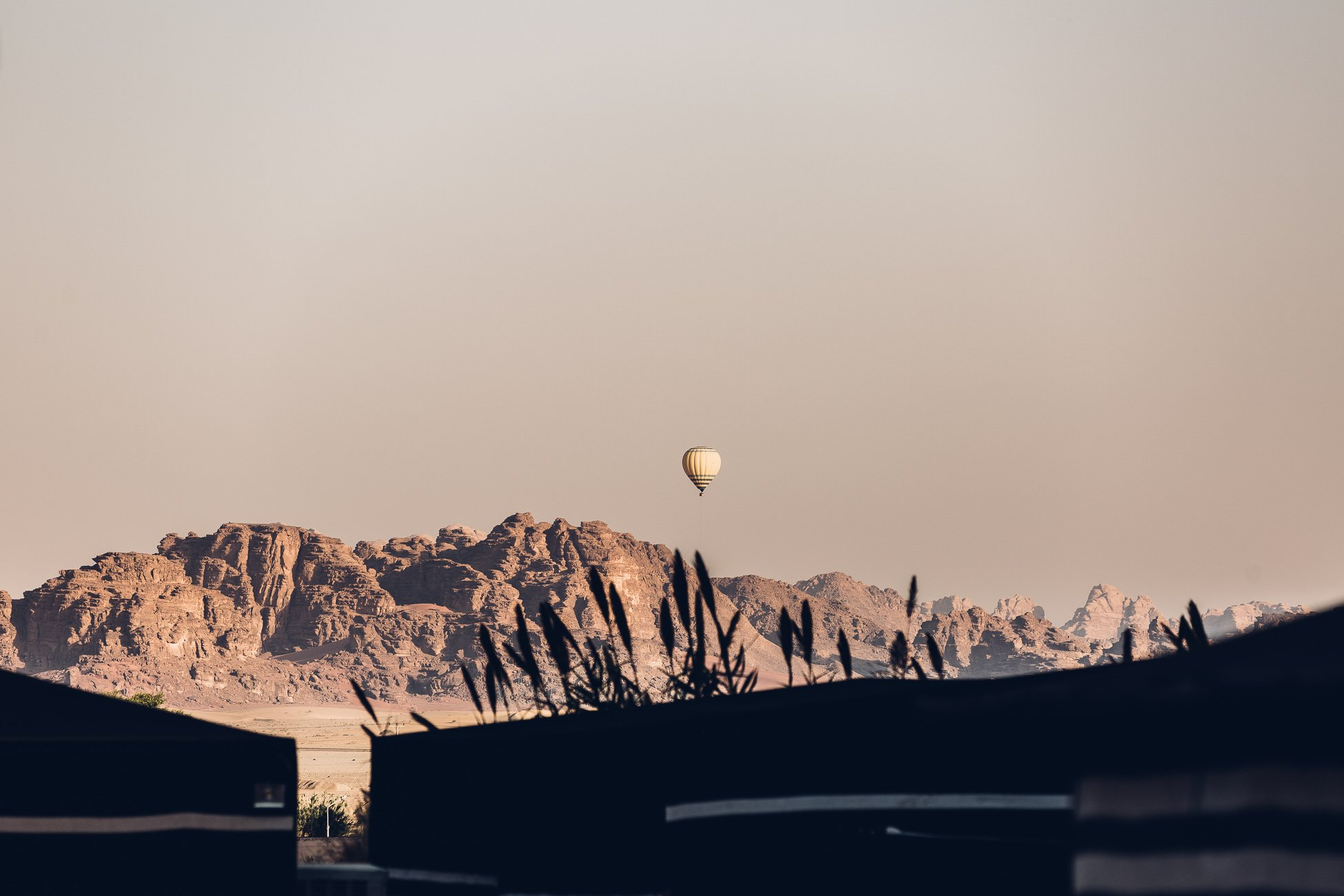 Hot Air Balloon Ride in Wadi Rum Jordan