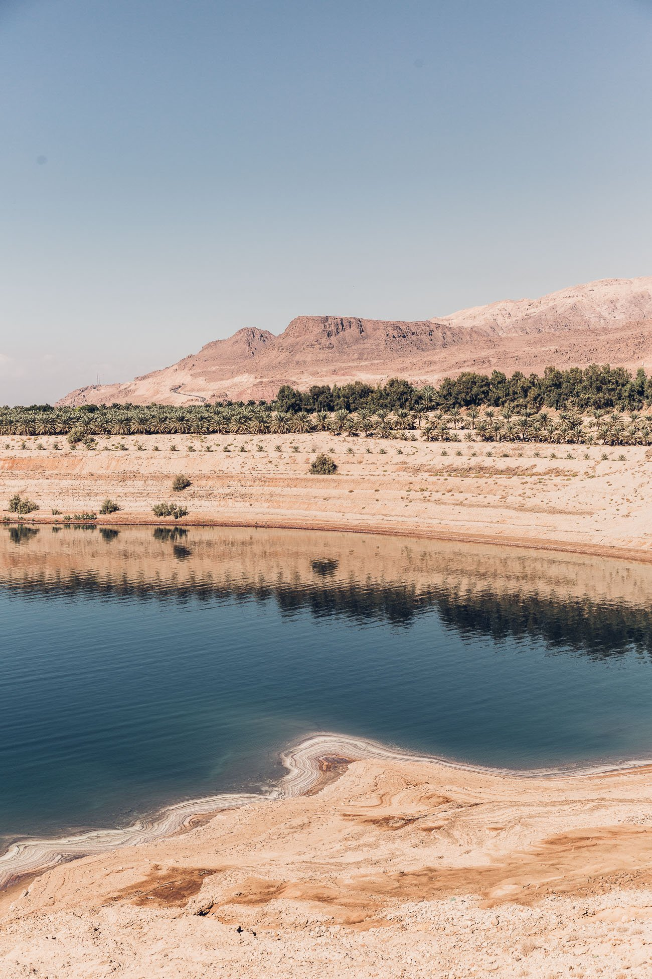 East Coast of the Dead Sea in Jordan