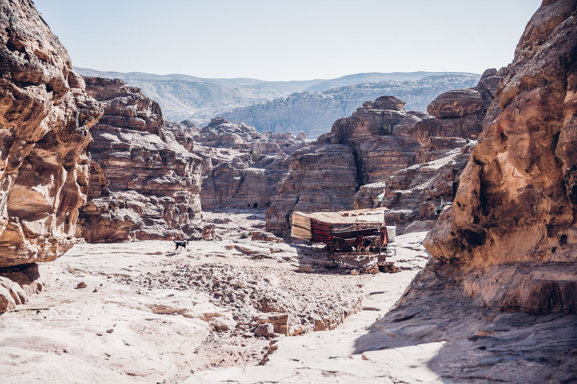 Path to The Monastery in Petra