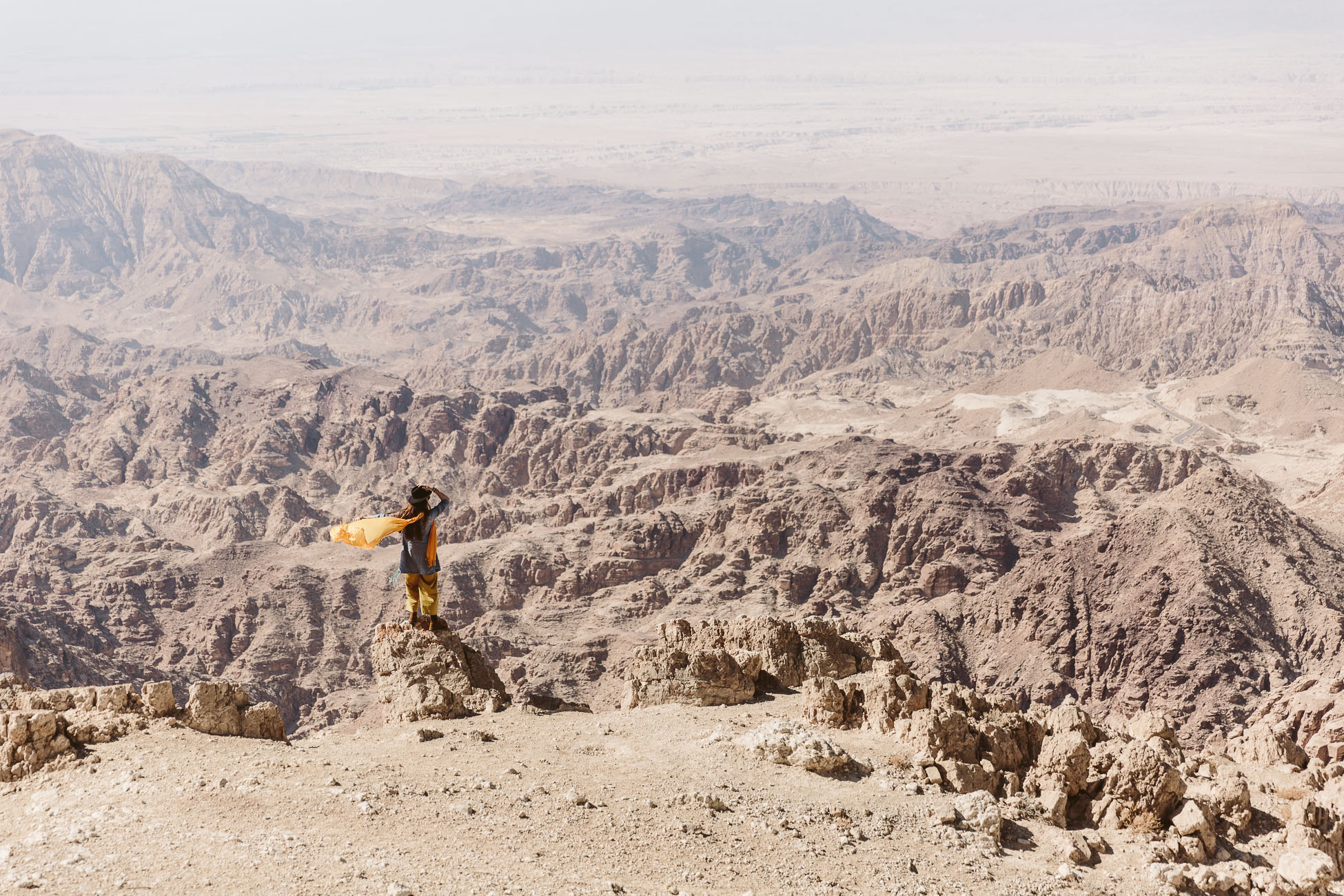 Views of the Jordan Valley