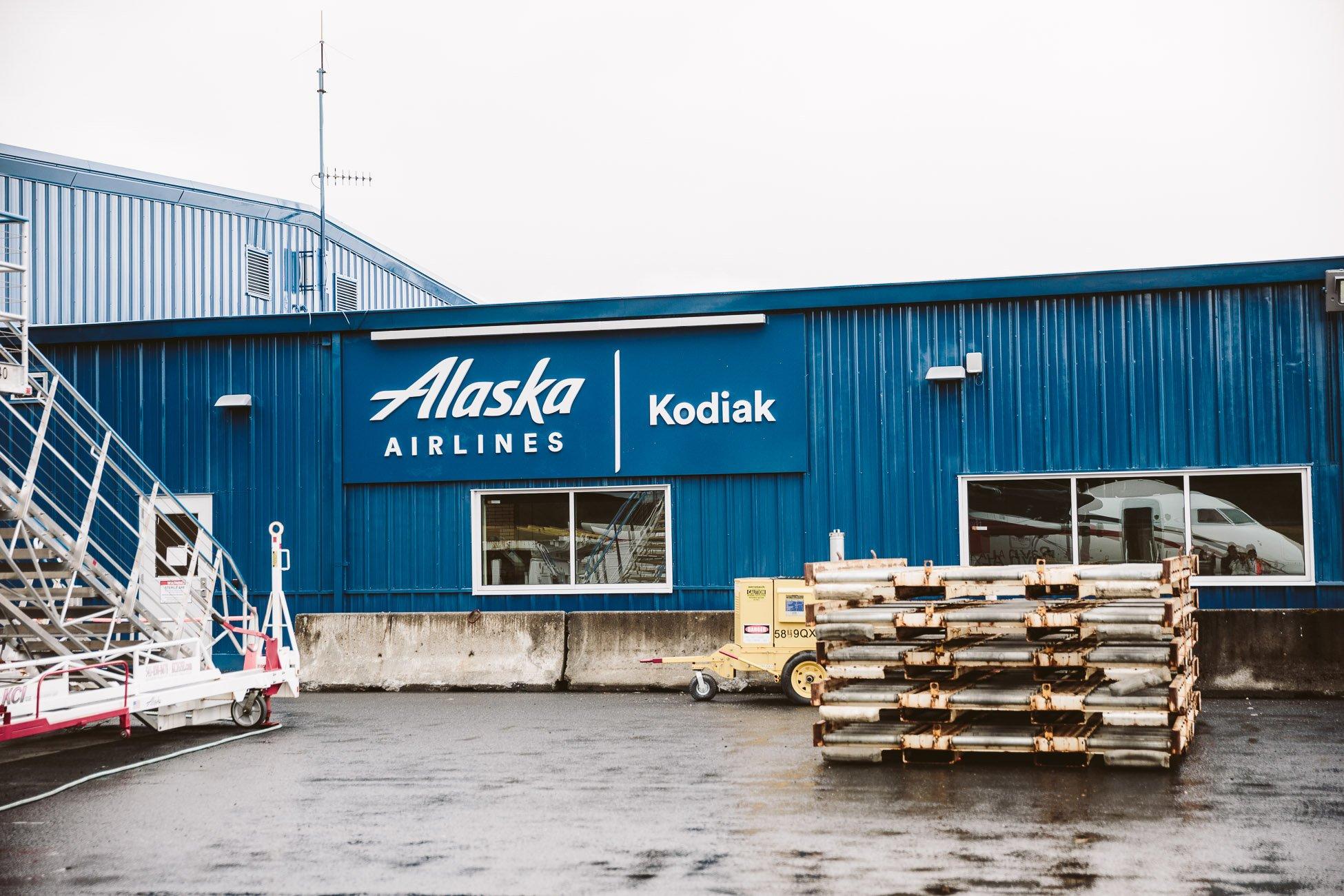 Kodiak Airport Kodiak Island Alaska