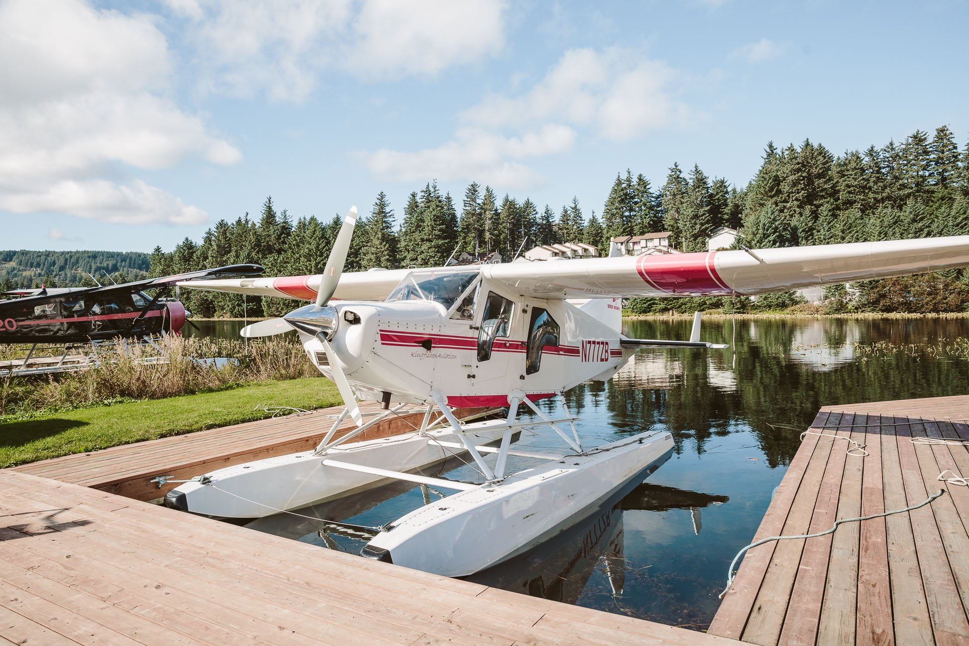 Water Plane in Kodiak Island Alaska