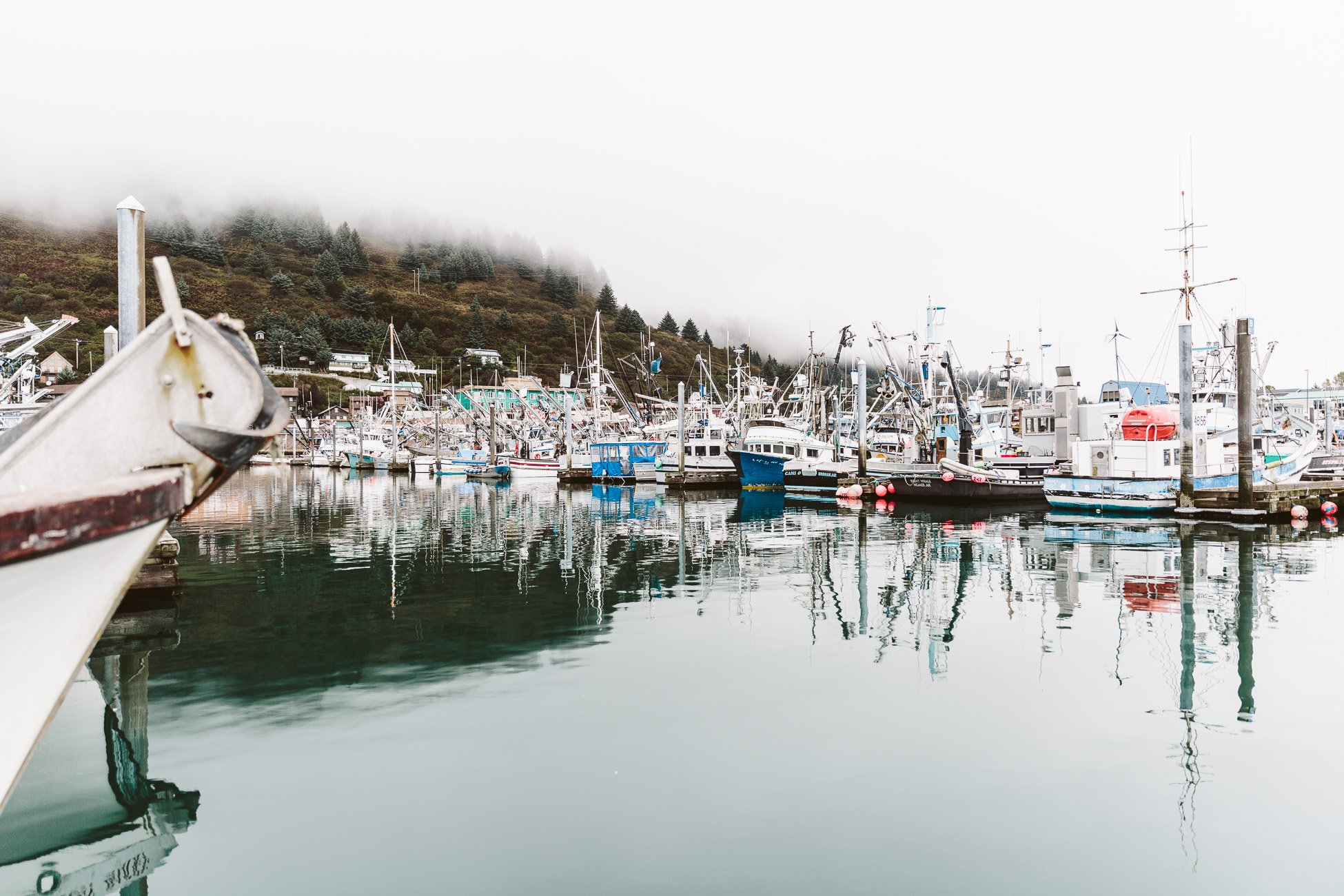 Harbour of Kodiak Island Alaska