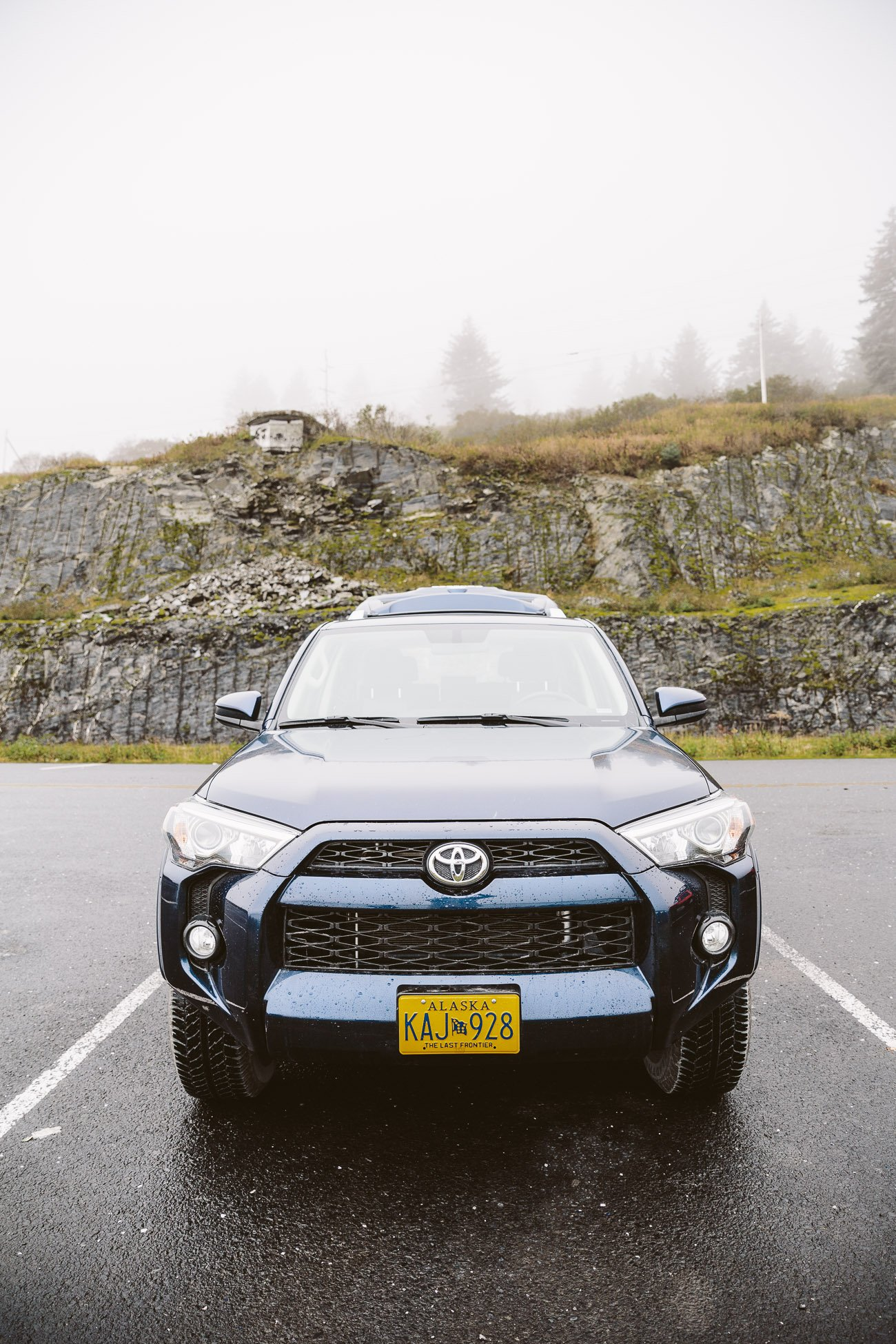 Rental car in Kodiak Island Alaska