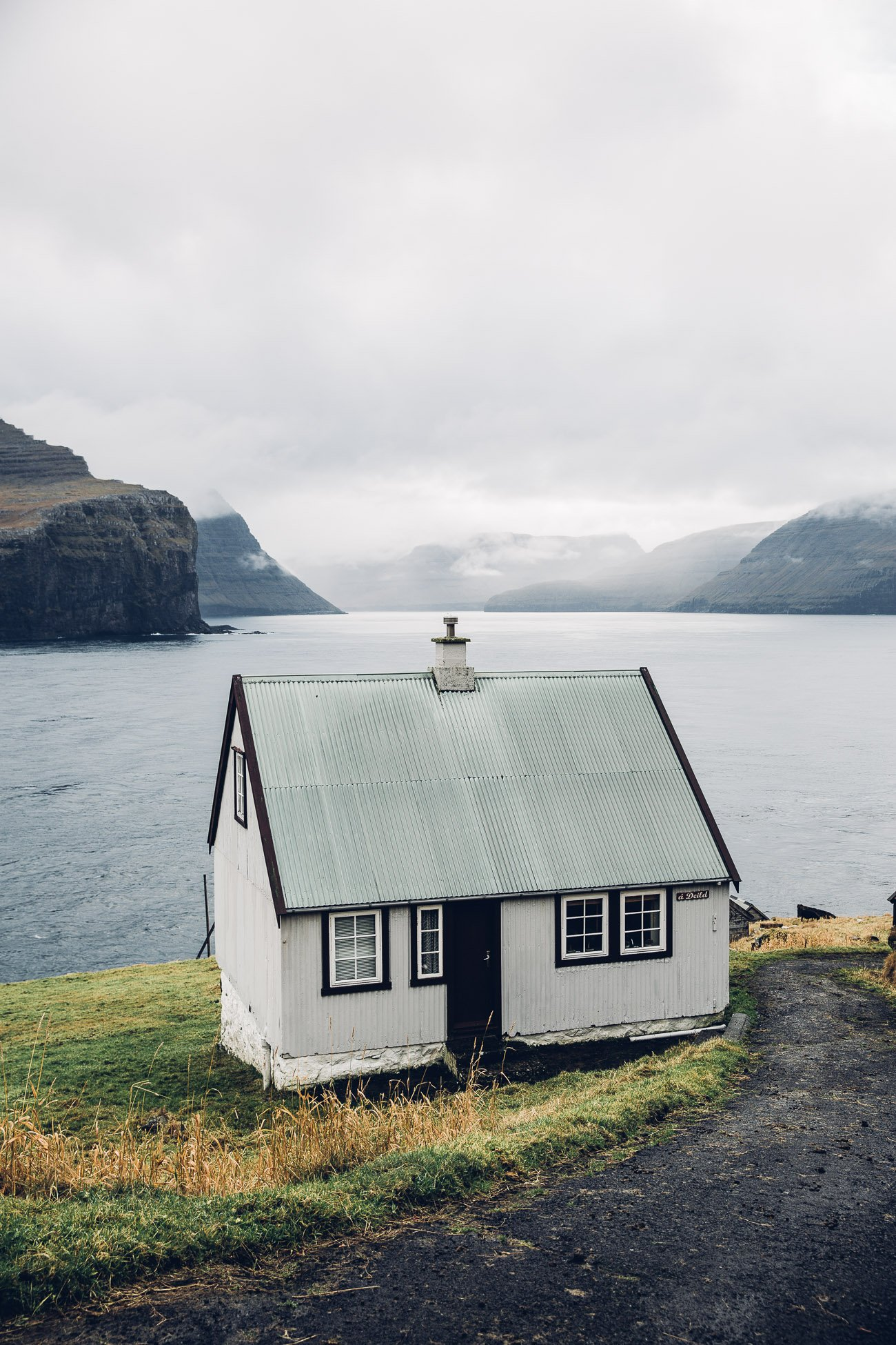 Kirkja in Fugloy on the Faroe Islands