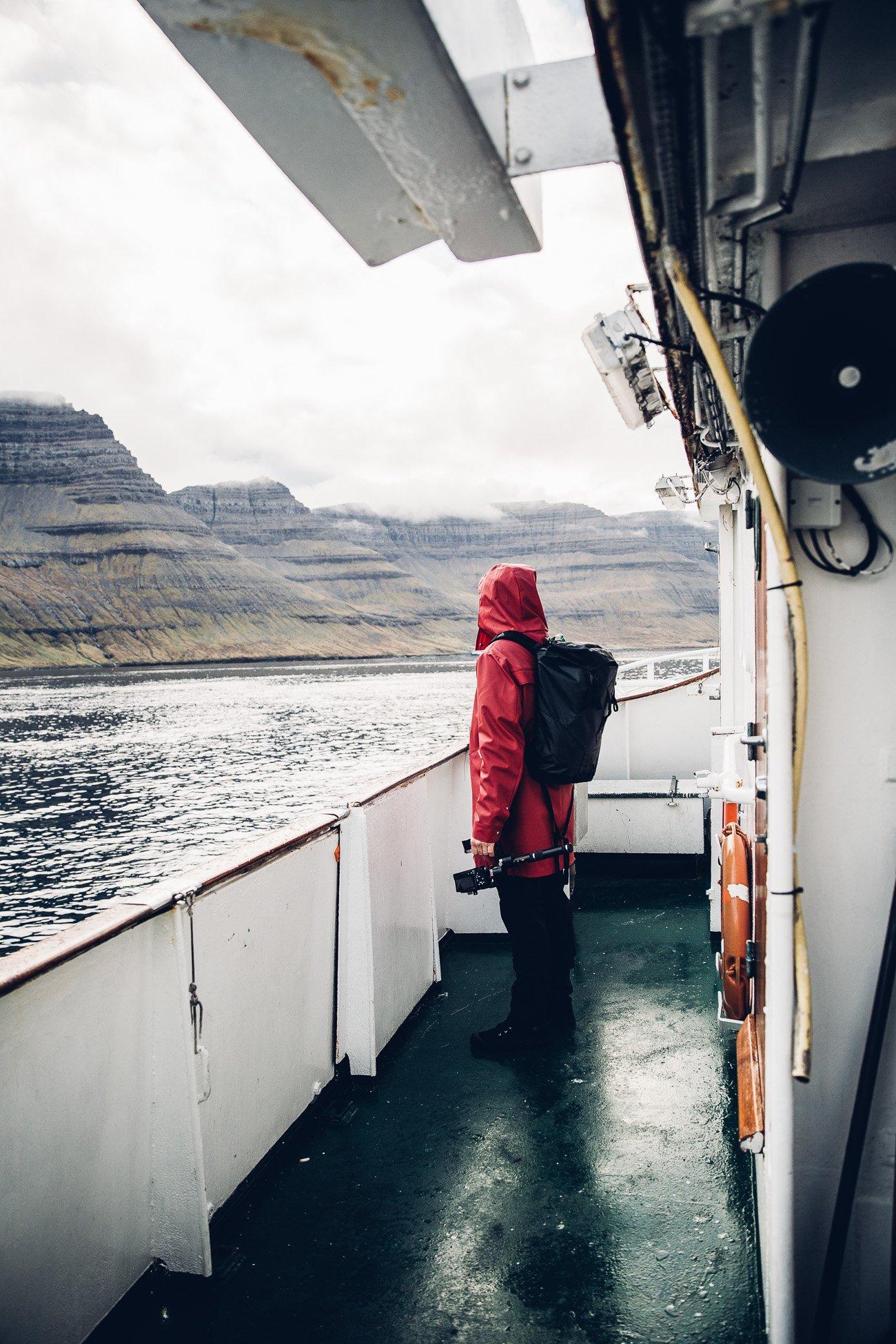 Ferry service on the Faroe Islands