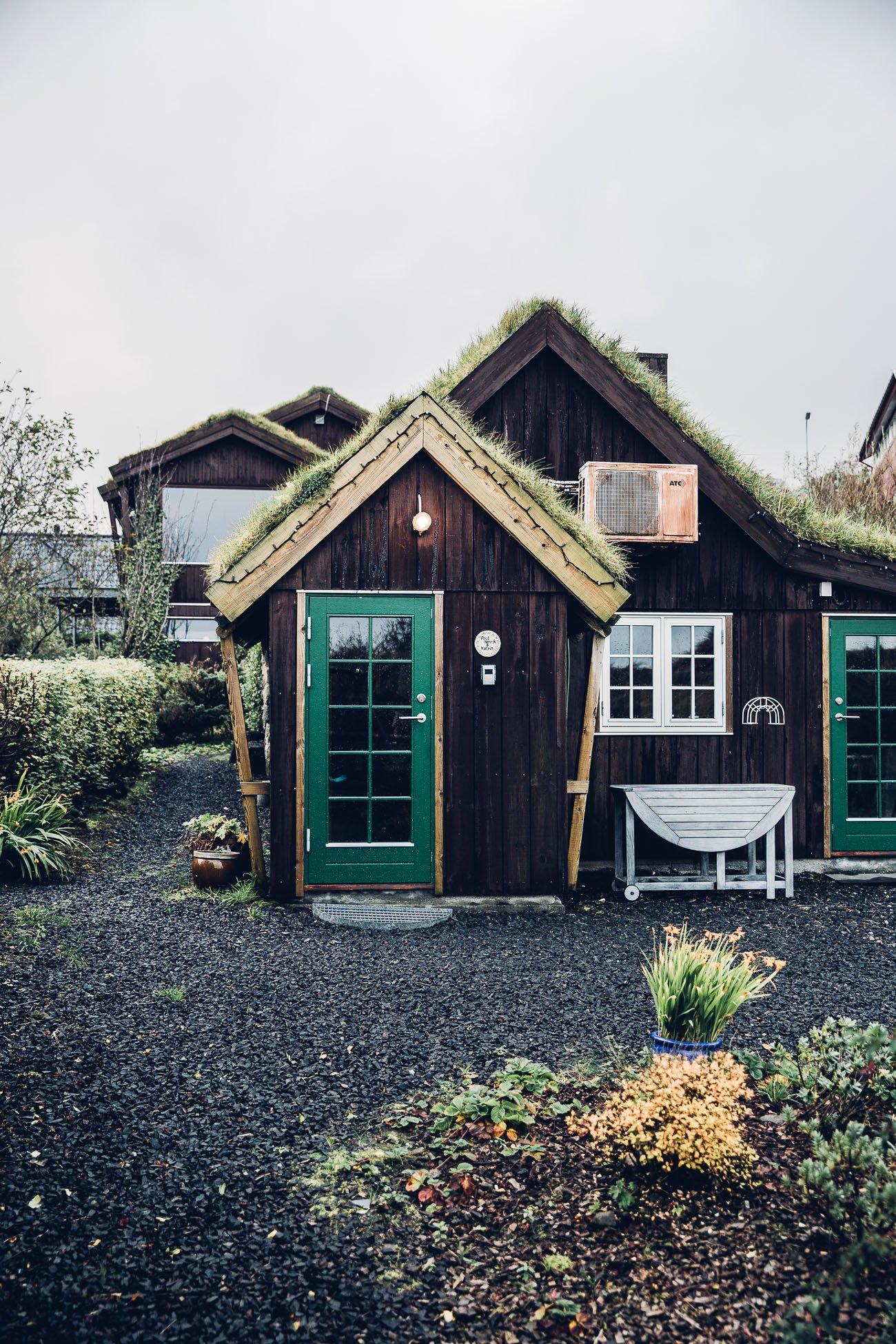 Cottage in Tórshavn Faroe Islands