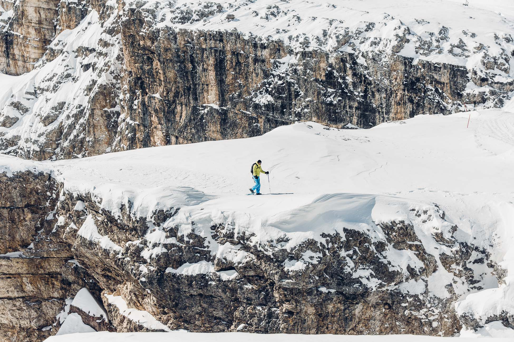 Snowshoehiking in Cortina d'Ampezzo Best of the Alps Roadtrip