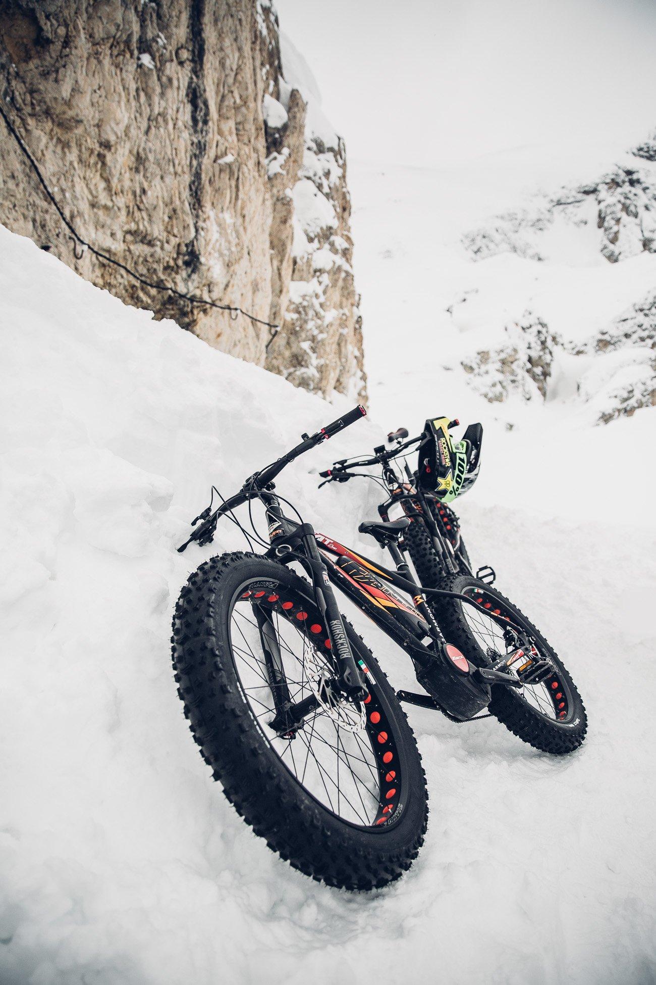 Fatbiking in Cortina d'Ampezzo