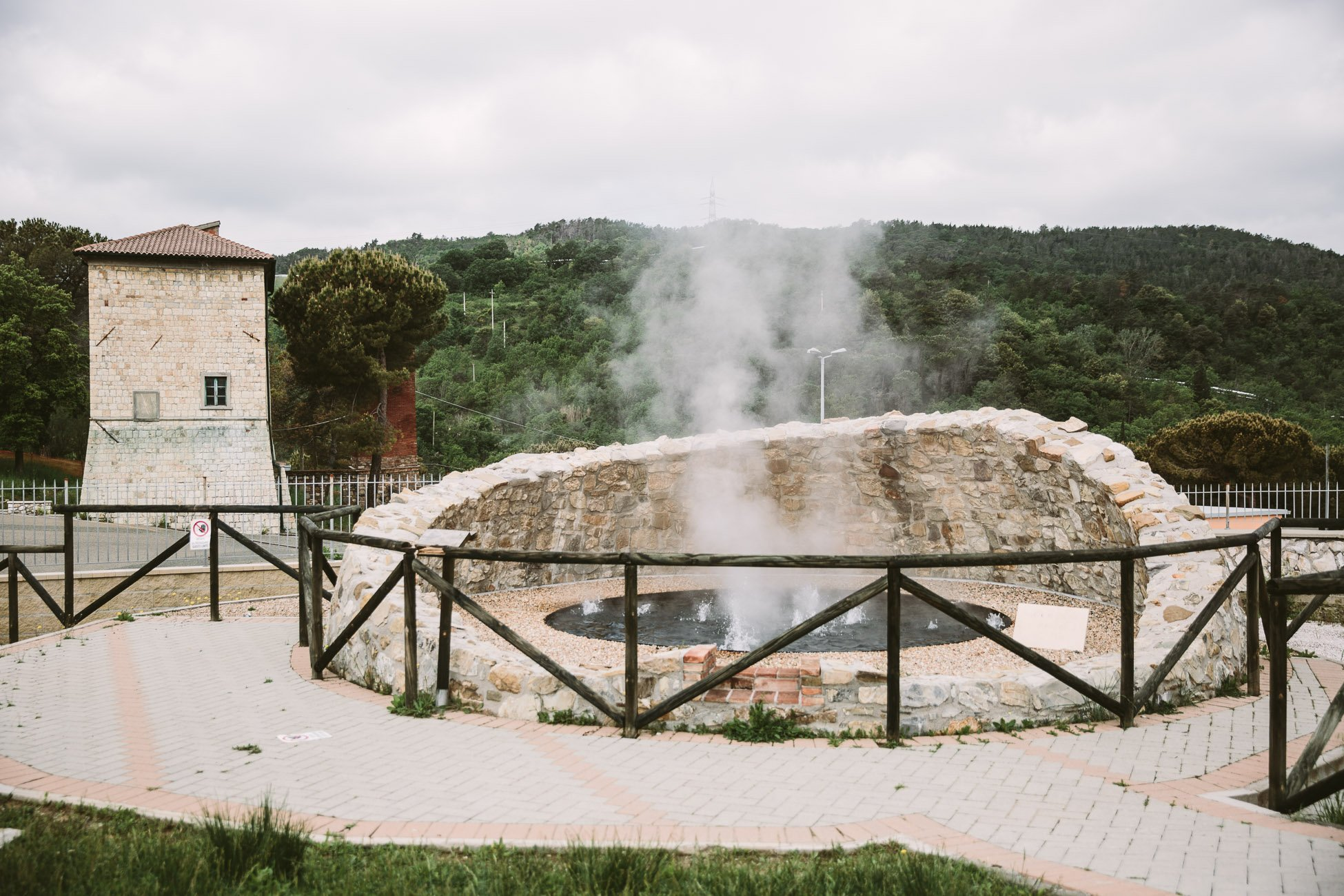 Geothermal museum Larderello