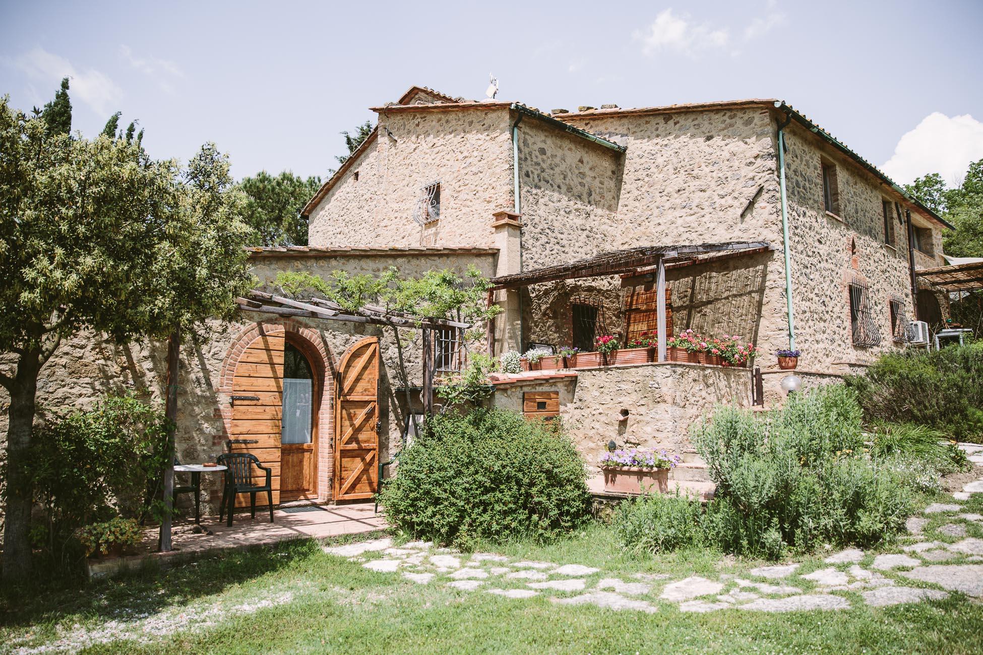 Agriturismo Apparita in Pomarance Tuscany