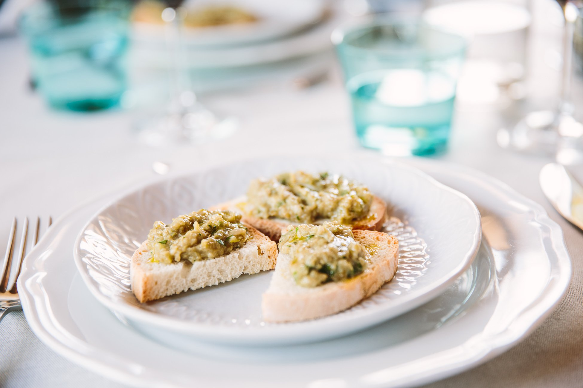 Tuscan food at Apparita Pomarance