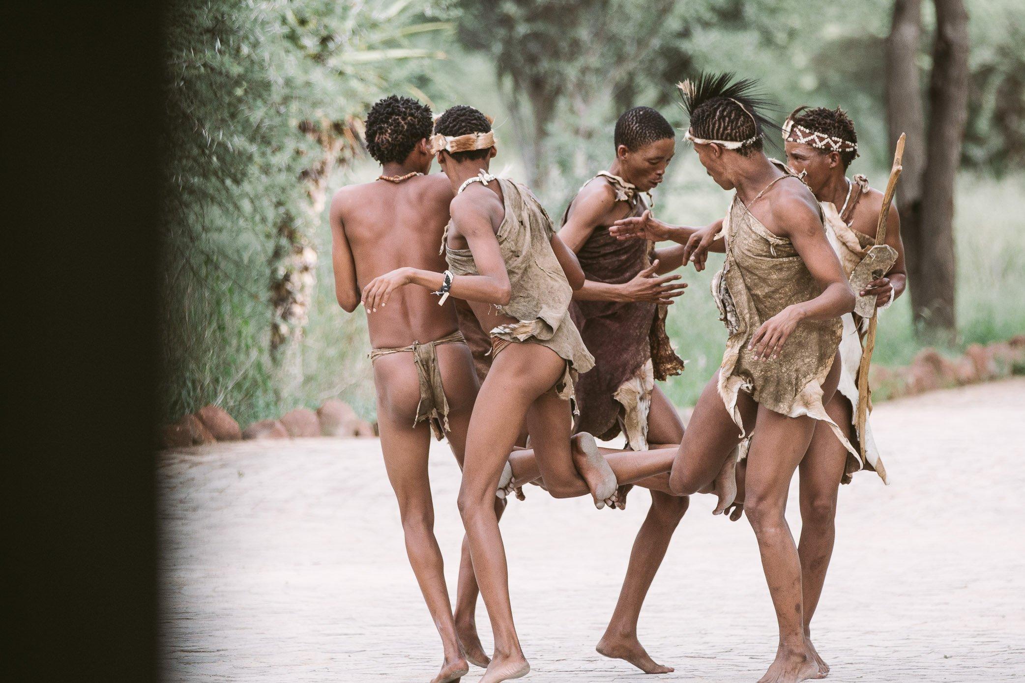 San people at Erindi Private Game Reserve