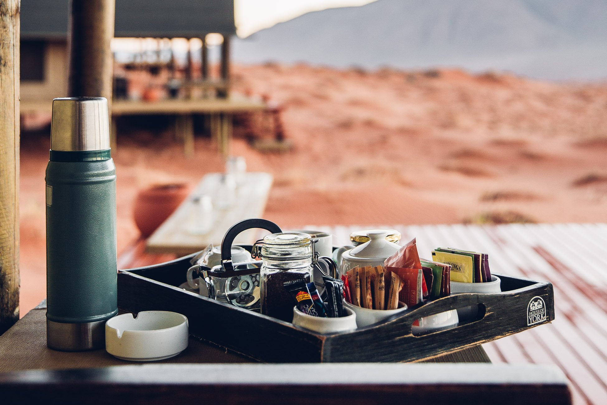 Morning Tea at Wolwedans Dune Camp