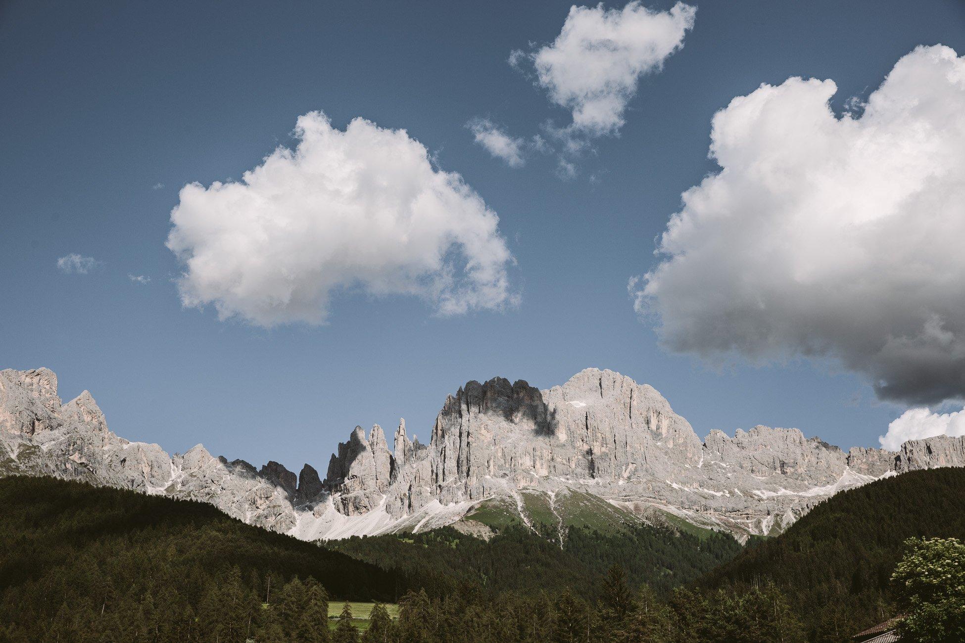 Rosengarten South Tyrol Dolomites