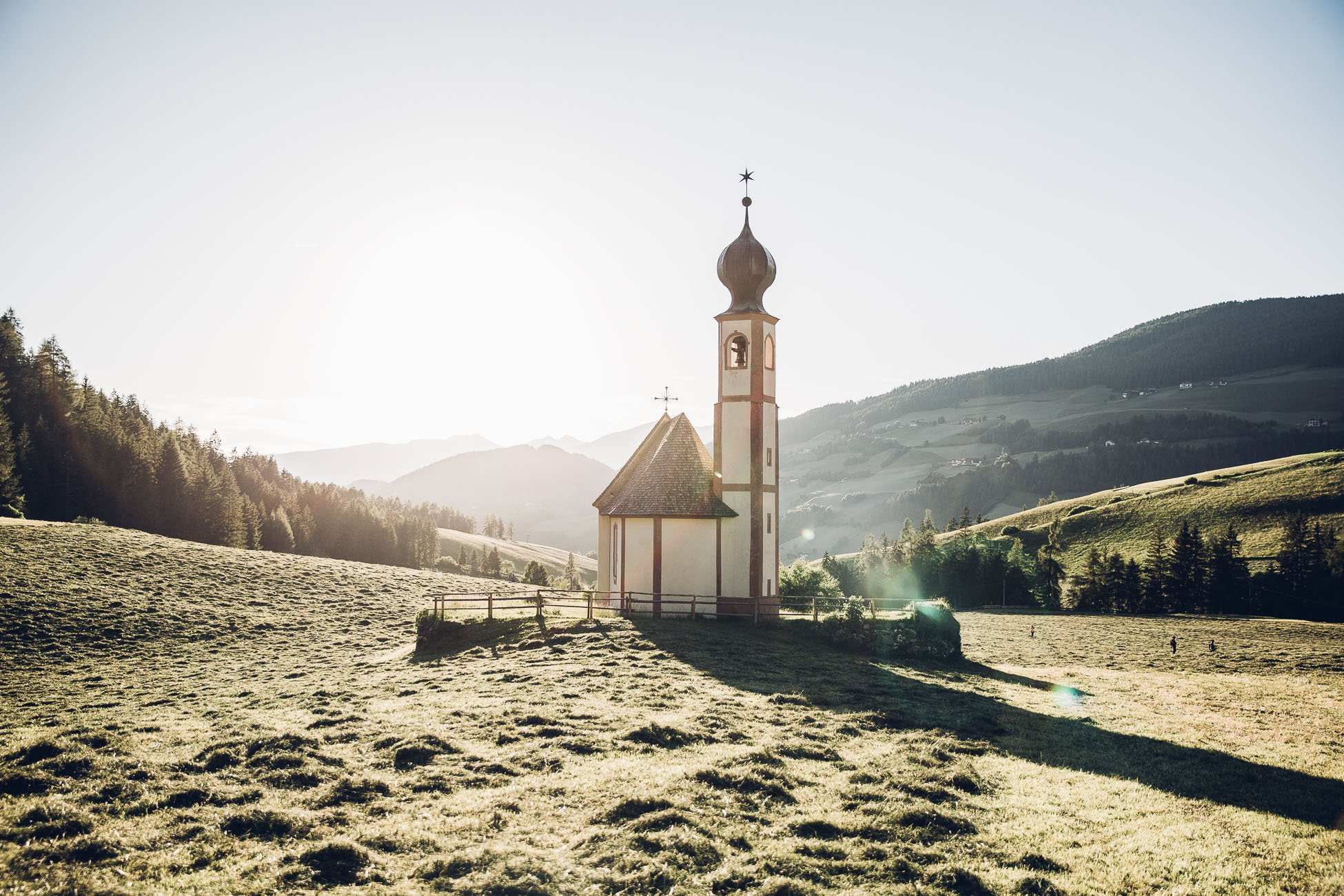 Ranui church in South Tyrol