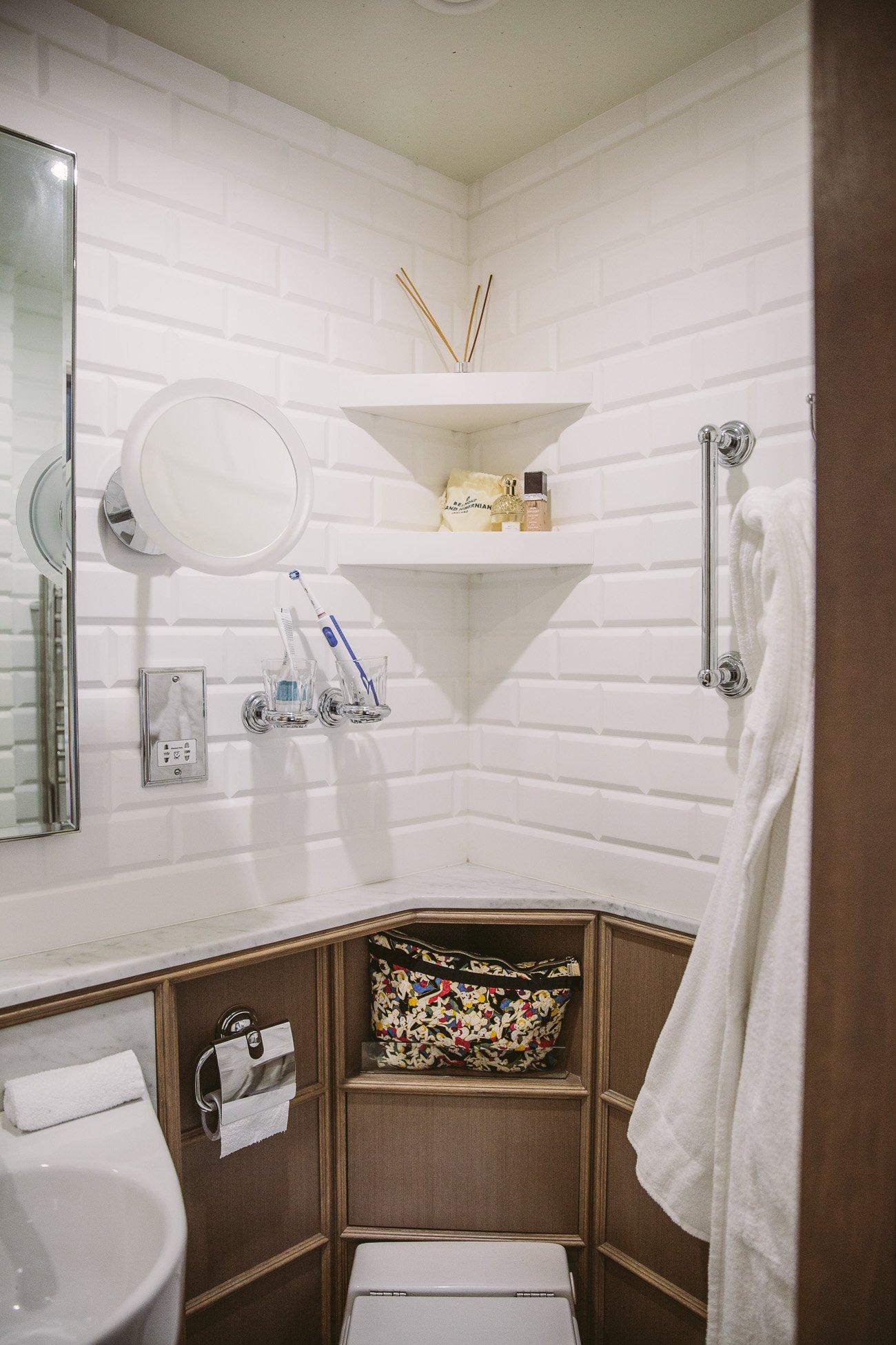 Bathroom at the Belmond Grand Hibernian