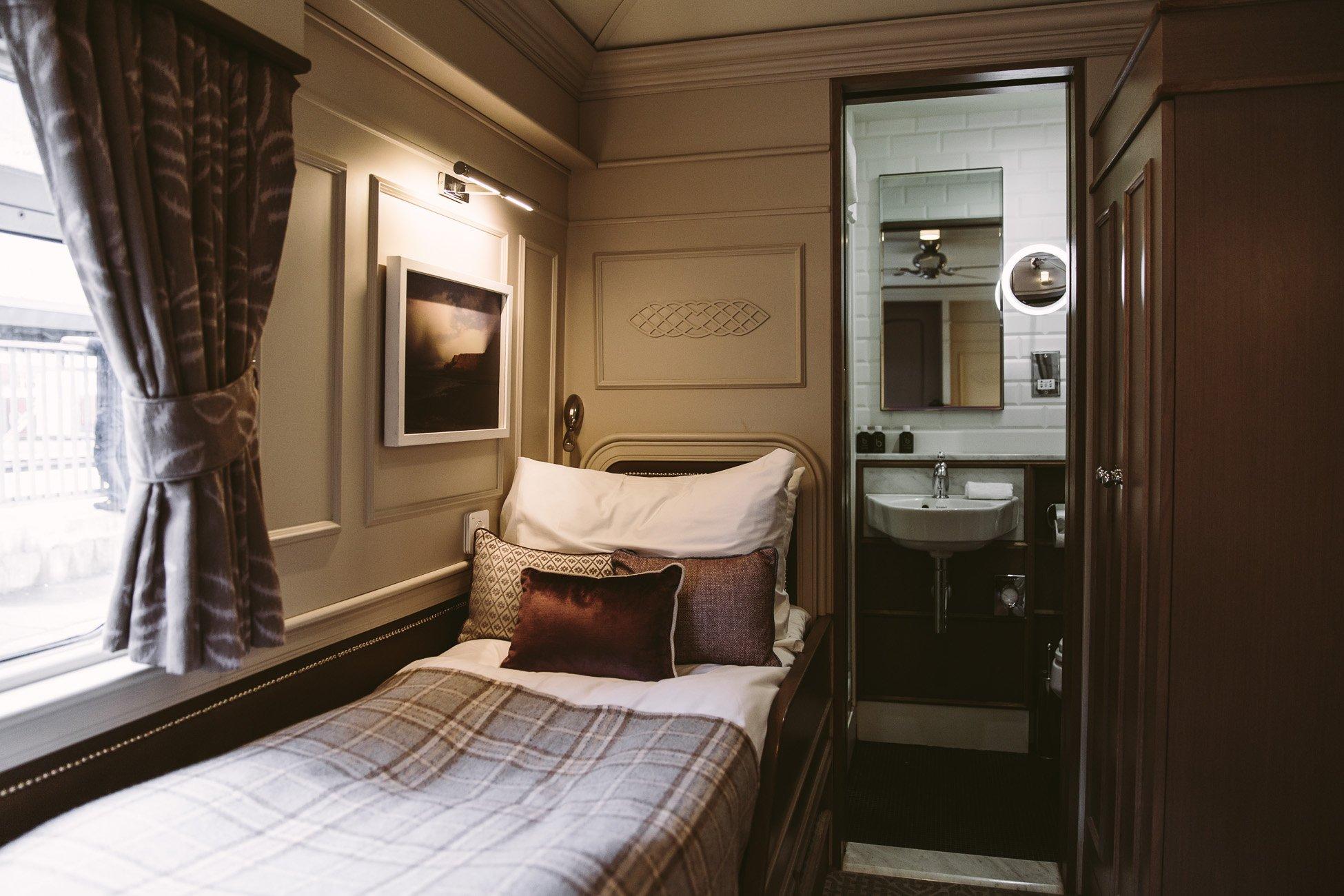 Cabin at the Belmond Grand Hibernian