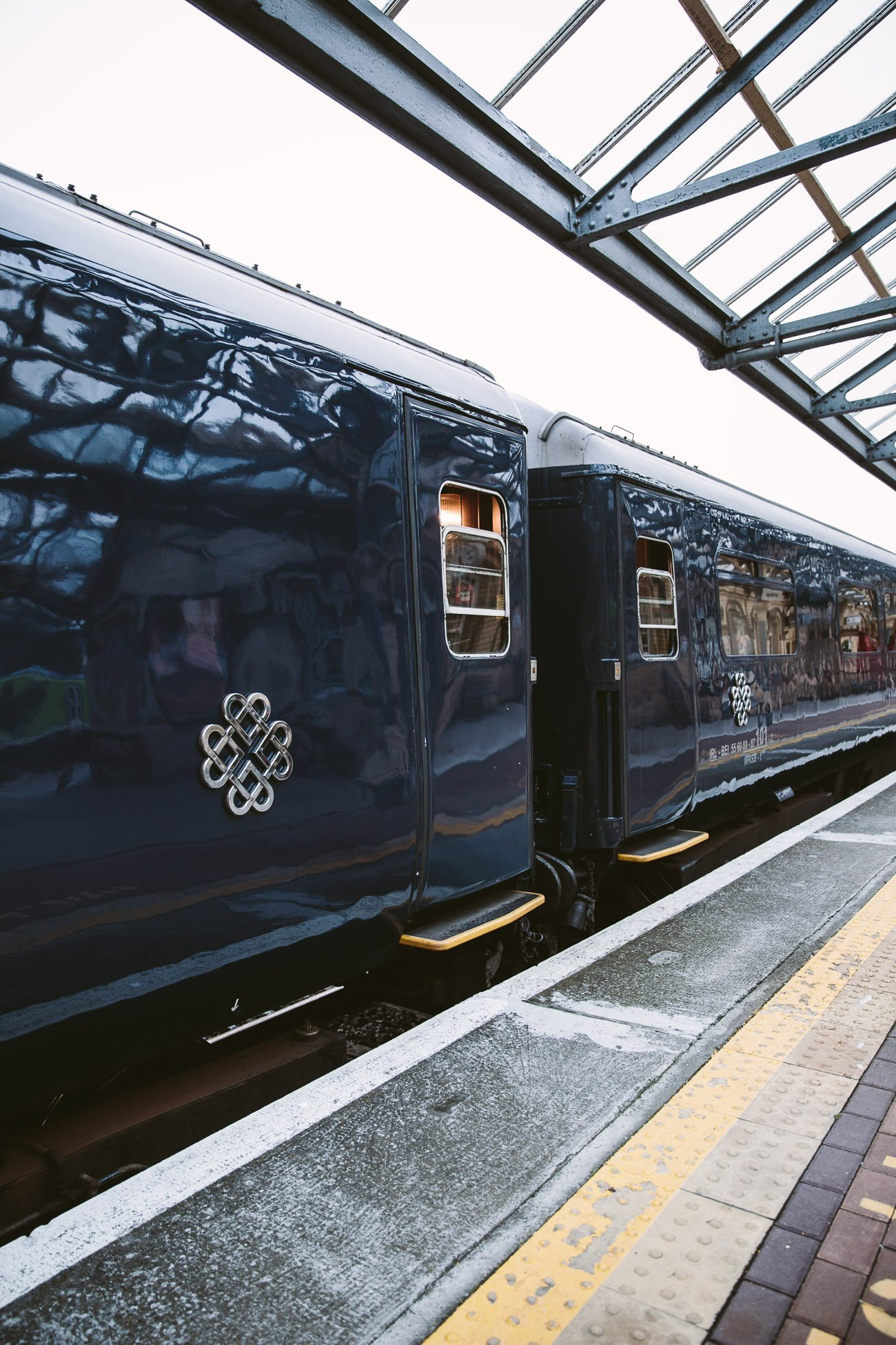 A luxury train journey through Ireland