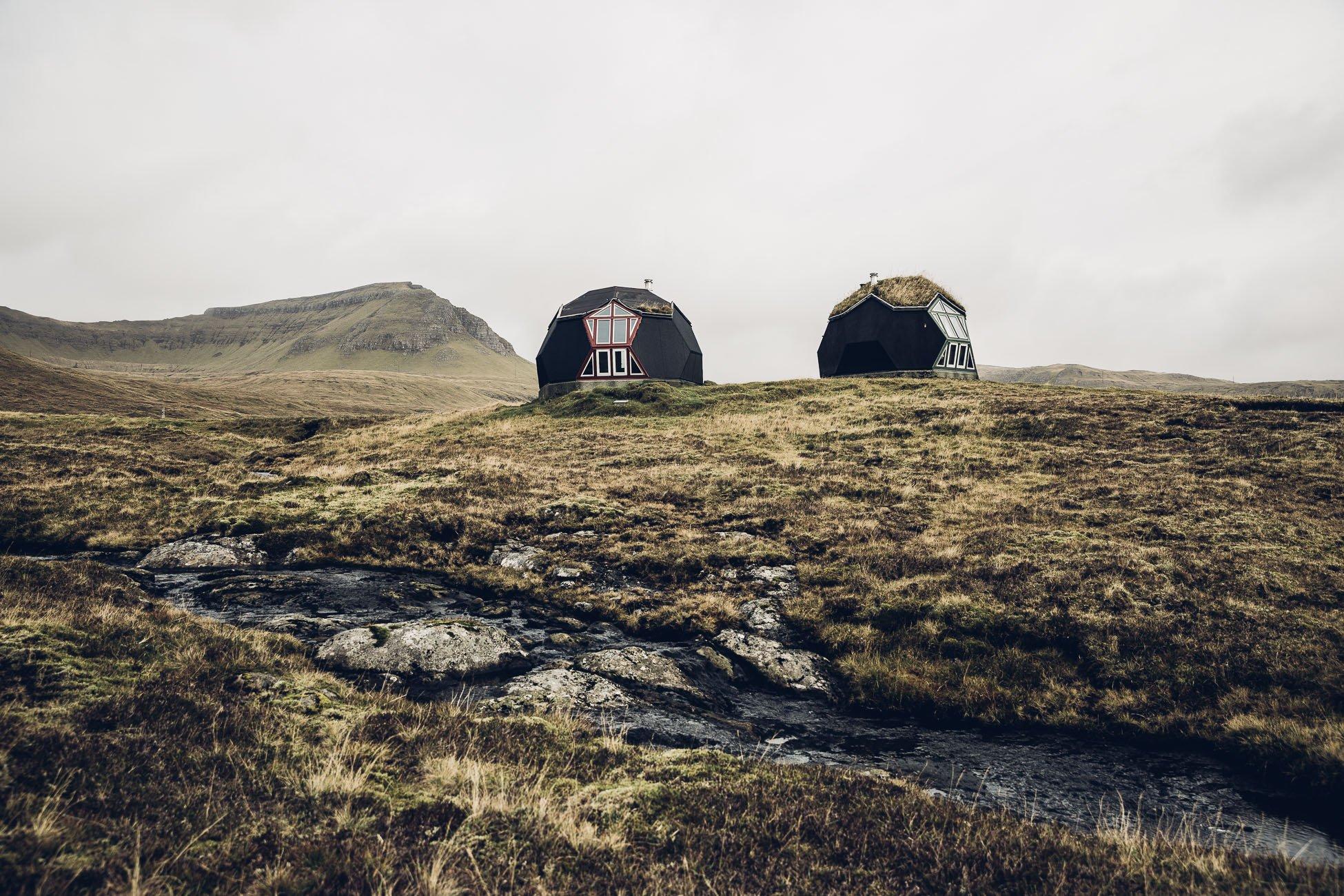 Kvívík Igloos Faroe Islands