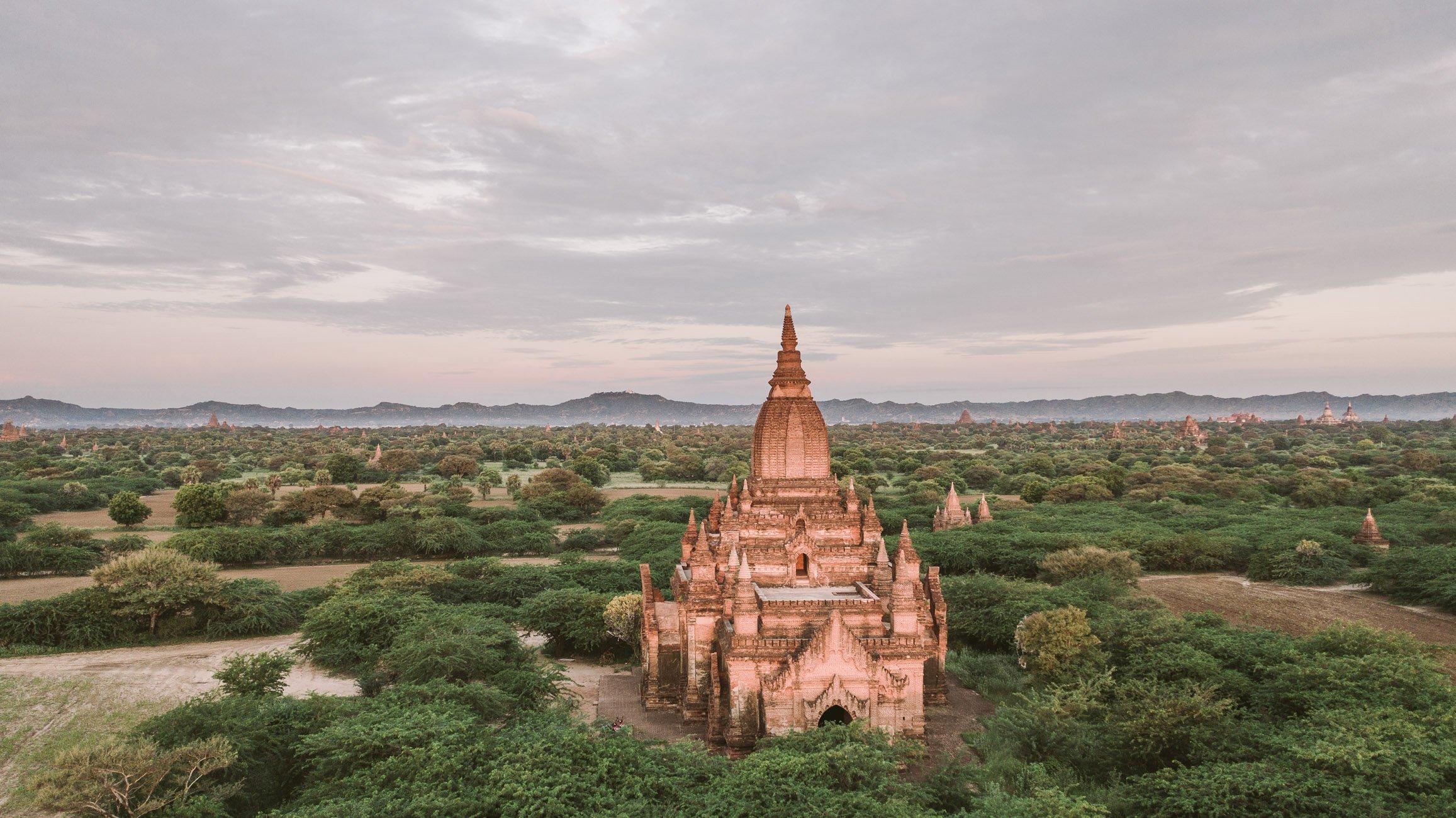 Chloé Nomade in Bagan Myanmar