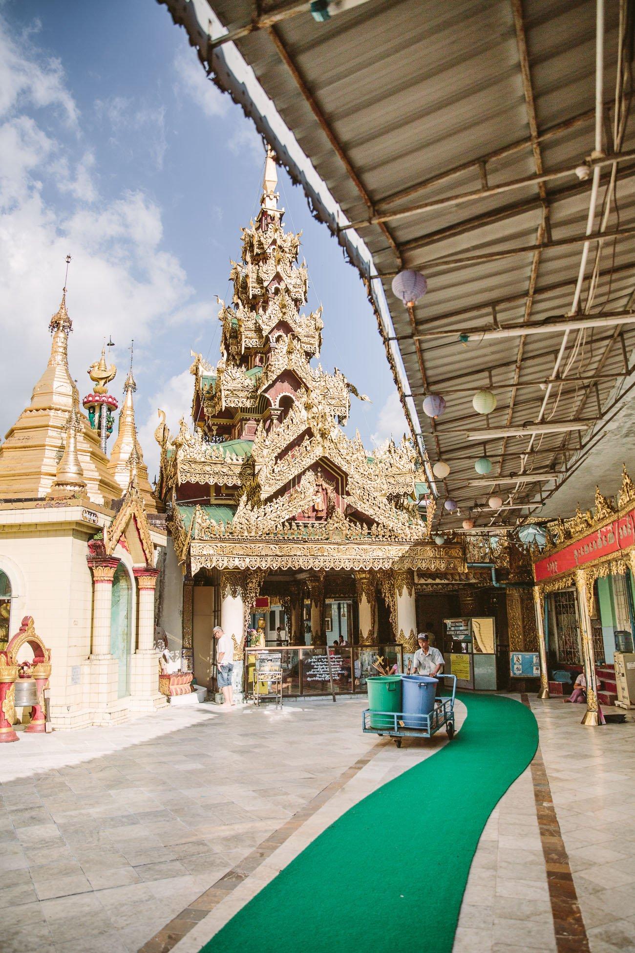 Sule Pagoda Yangon