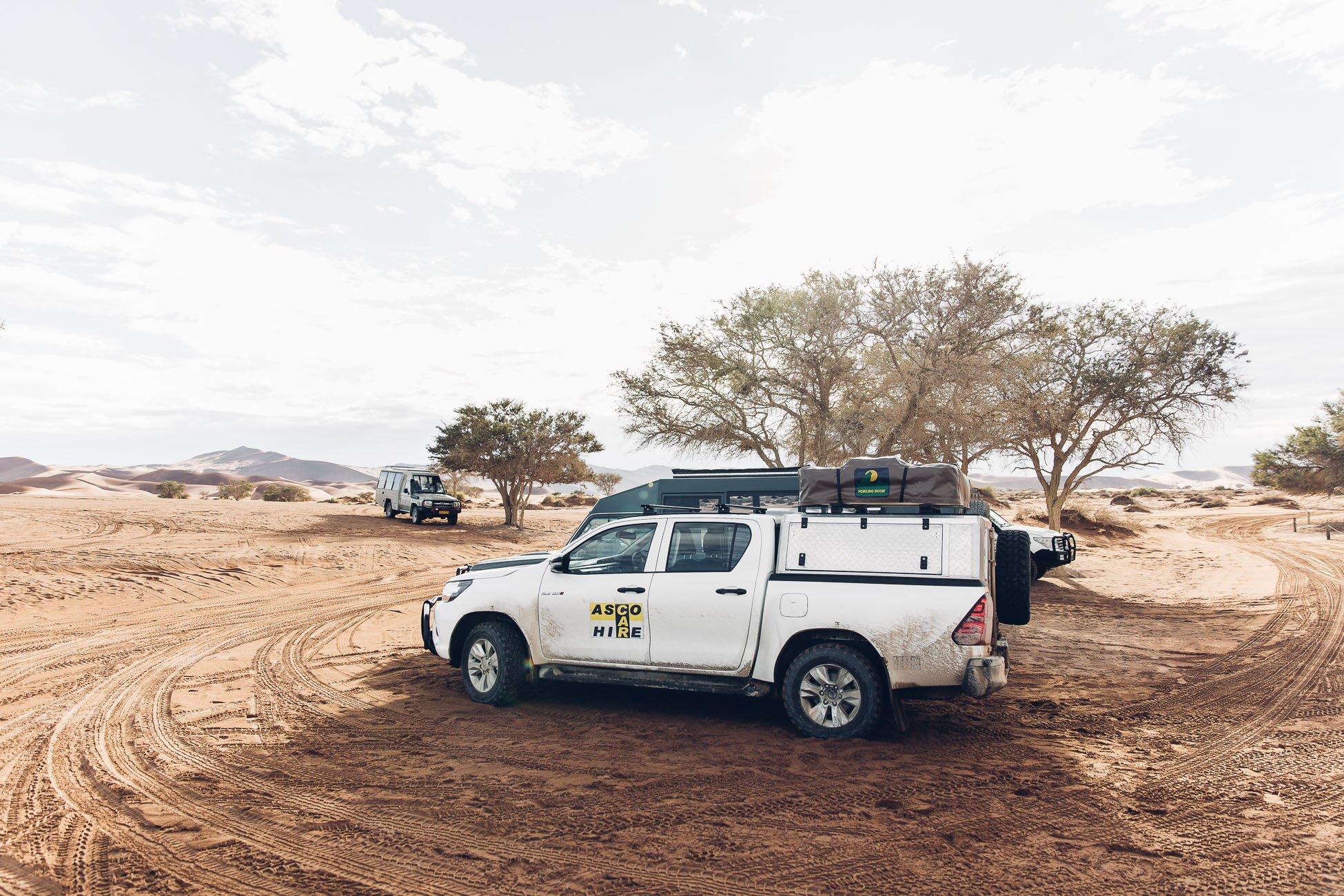 ASCO Car hire Namibia