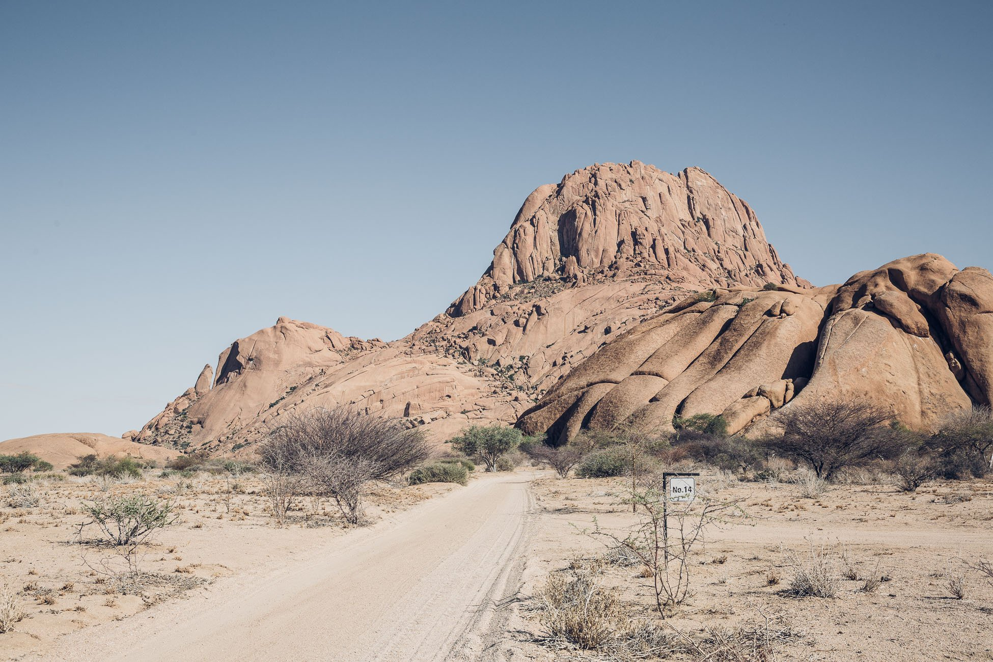 Camping at Spitzkoppe Namibia