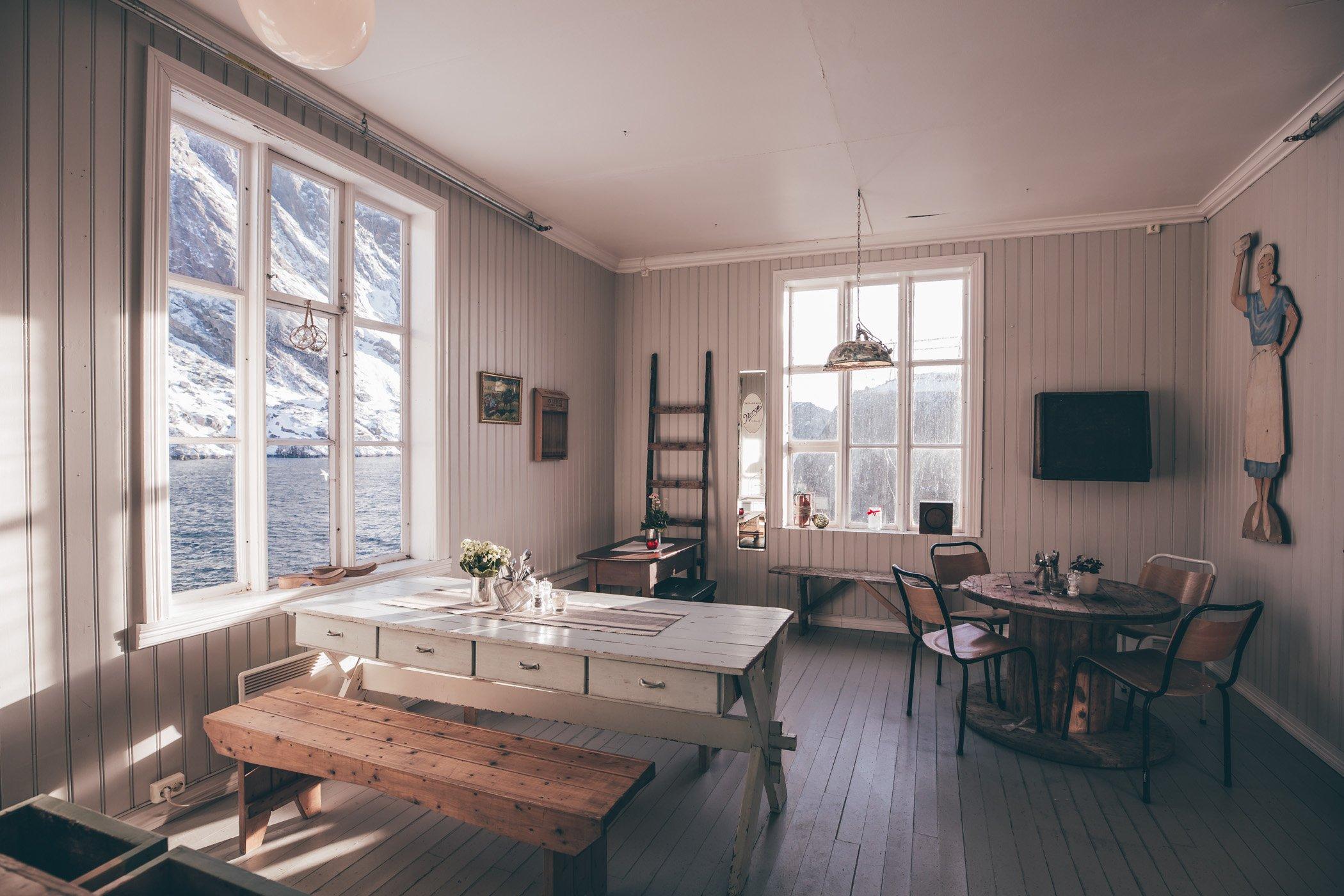 Landhandel Nusfjord Lofoten Norway