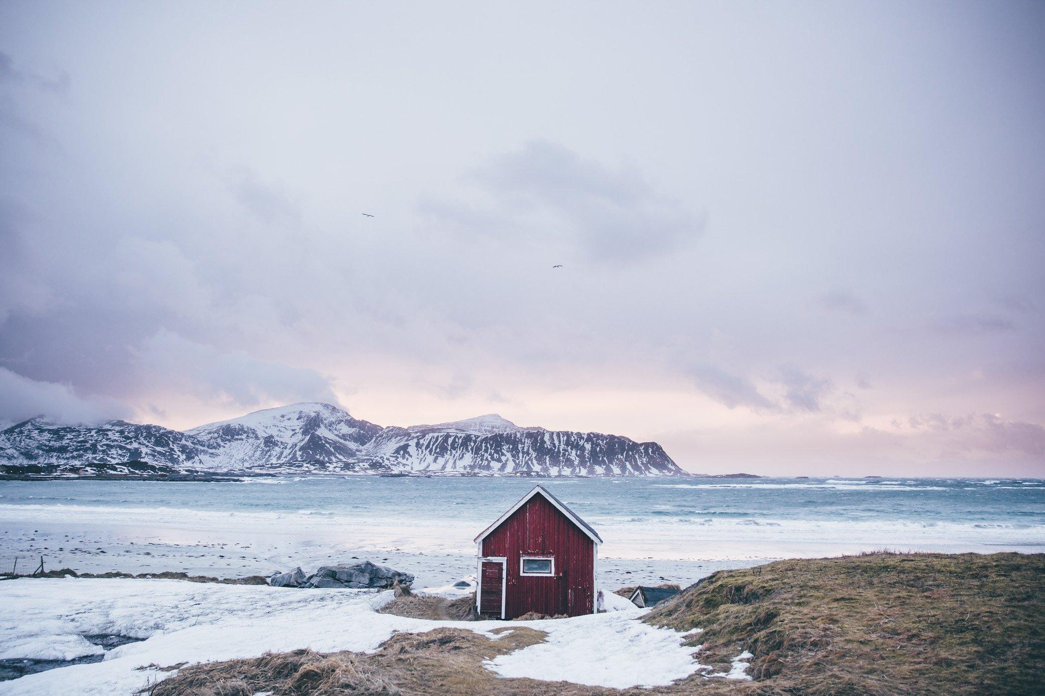 Rambergstranda Lofoten Norway